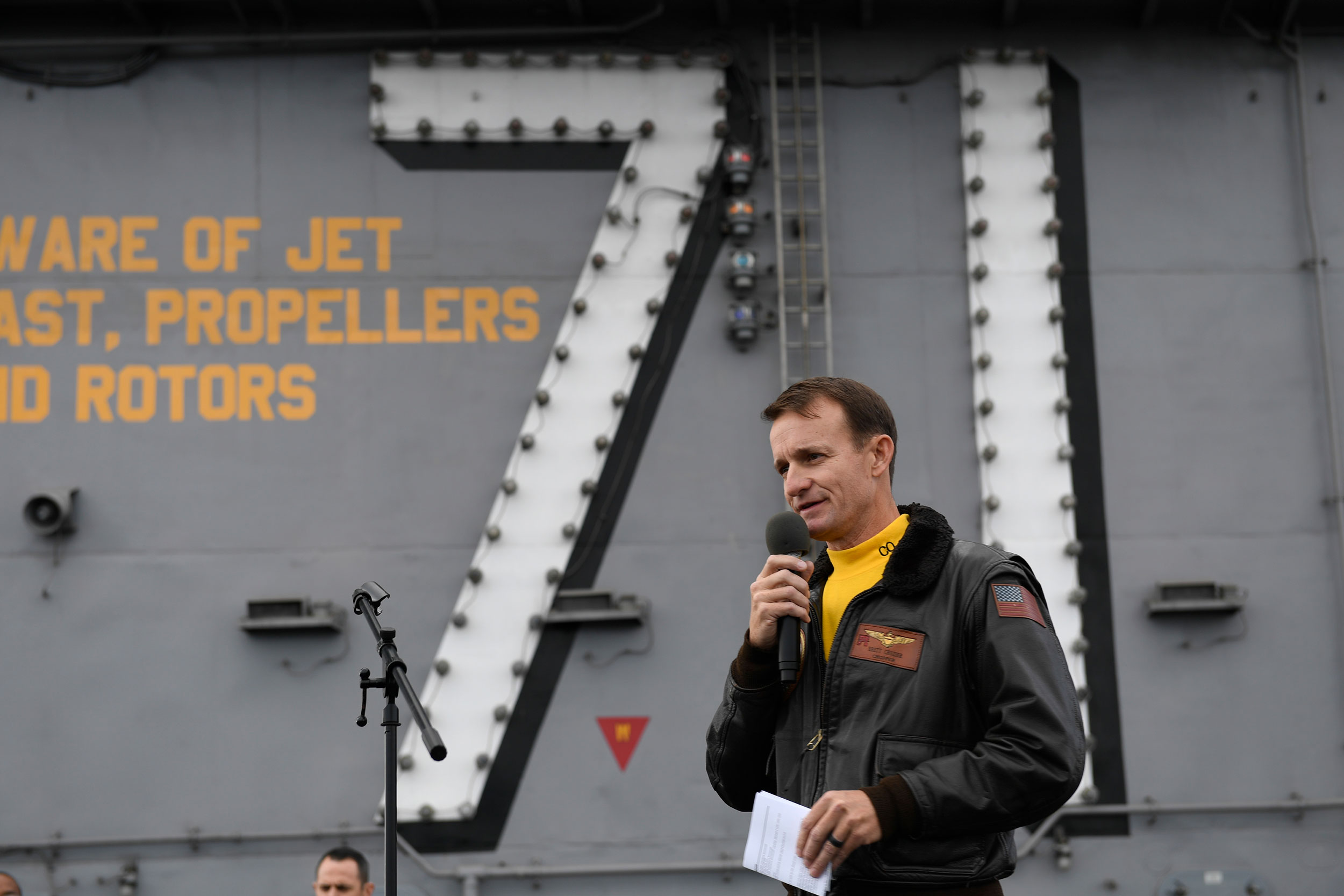 Acting Navy secretary blasts ousted aircraft carrier captain as 'stupid' in address to ship's crew
