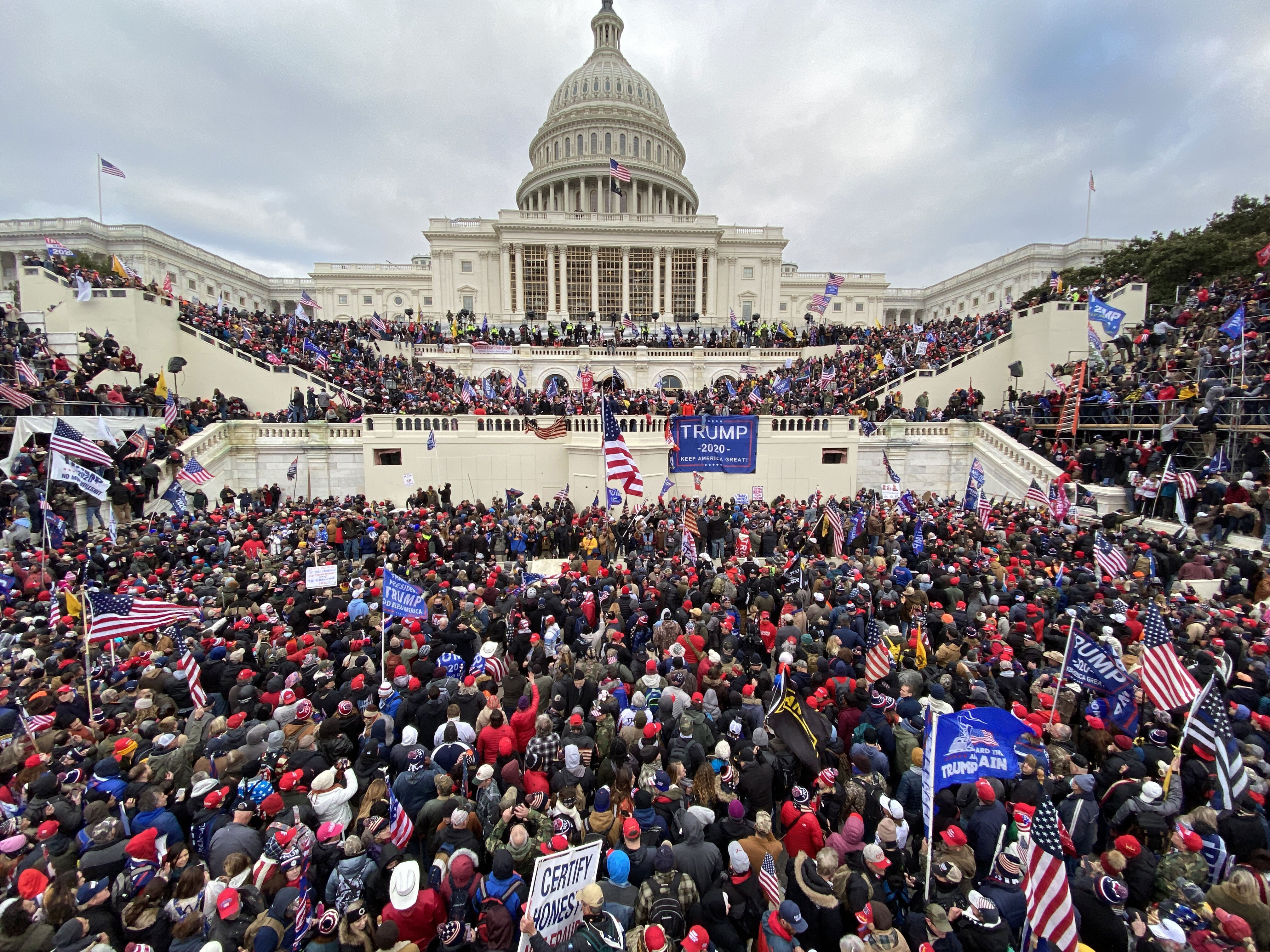 US Capitol Police whistleblower alleges leadership failures on January 6