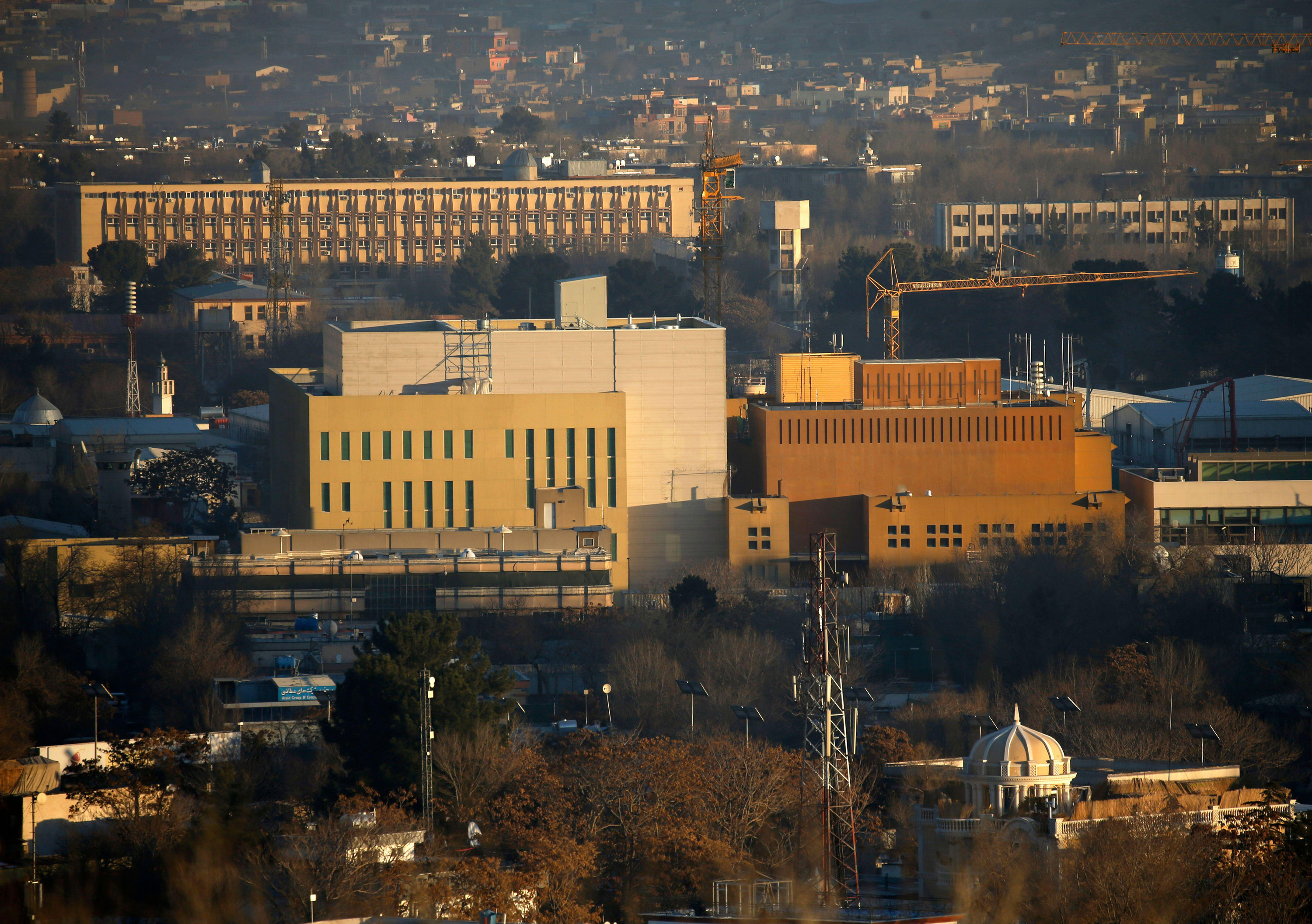 US updating evacuation plans for embassy in Afghanistan amid concerns for potential of escalating violence