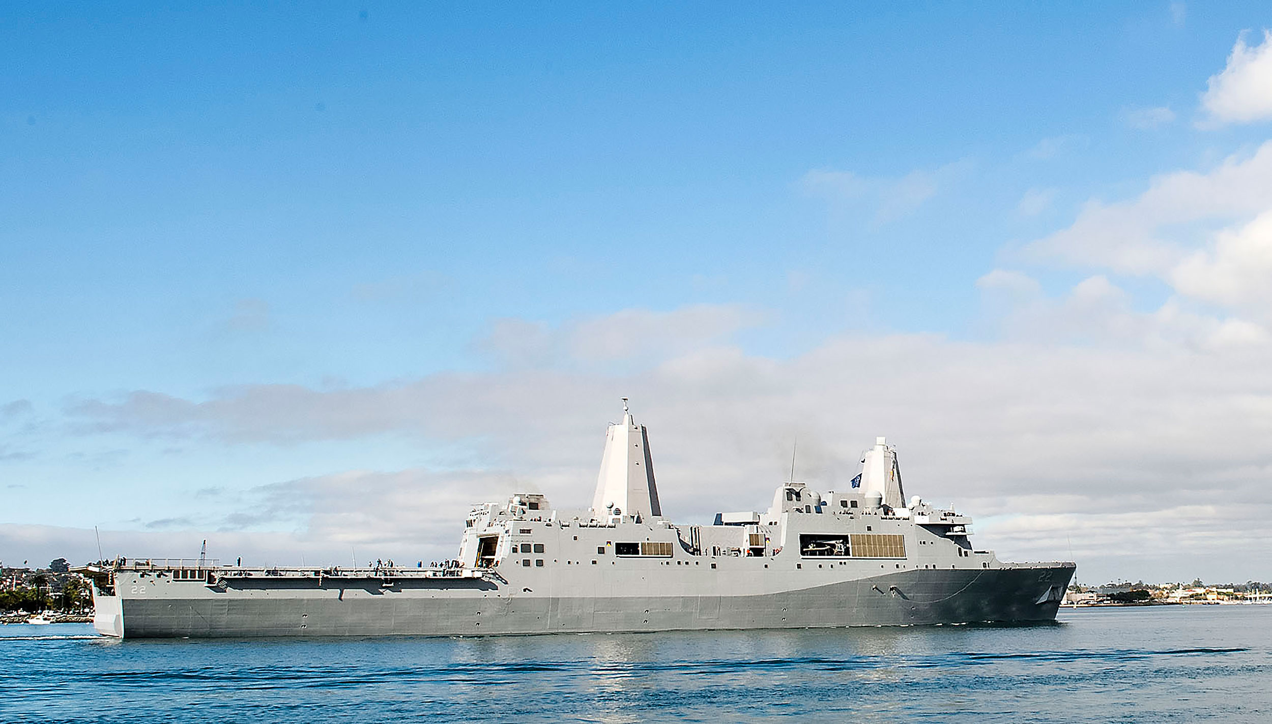 Covid-19 cases discovered on one US Navy ship in Middle East, suspected cases on a second
