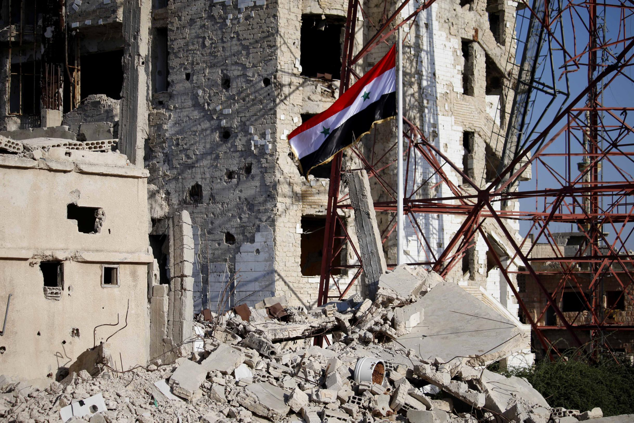 Biden administration issues new sanctions on Syria