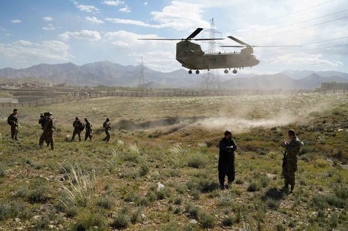 Image for US begins to withdraw some troops from Afghanistan