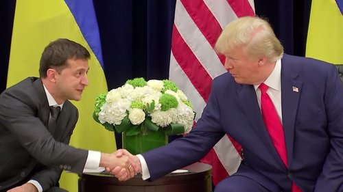 Image for Pompeo: 'I was on the phone call' with Trump and Ukrainian President