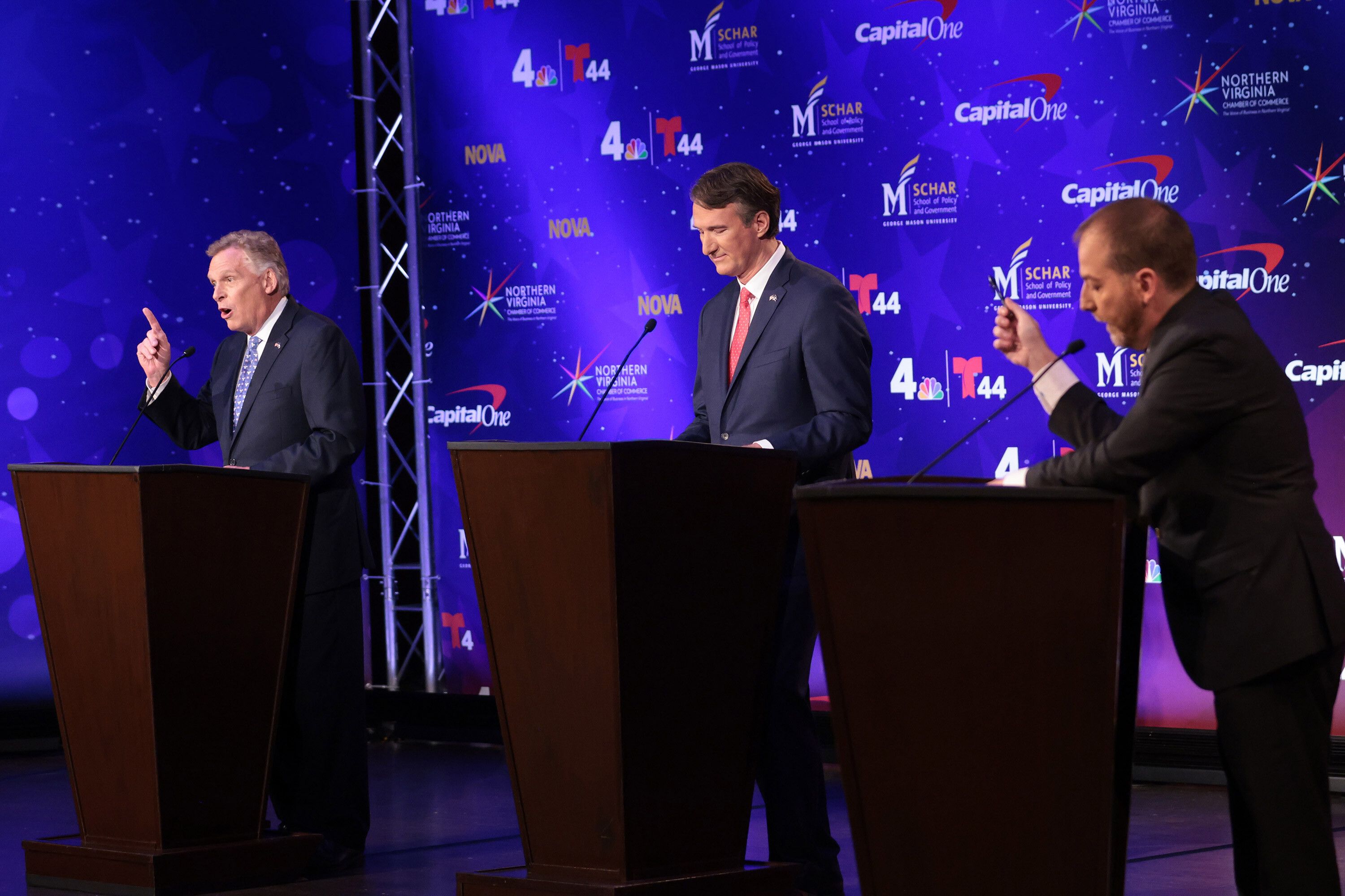 Virginia's elections will be the most telling political test yet of stringent Covid policies