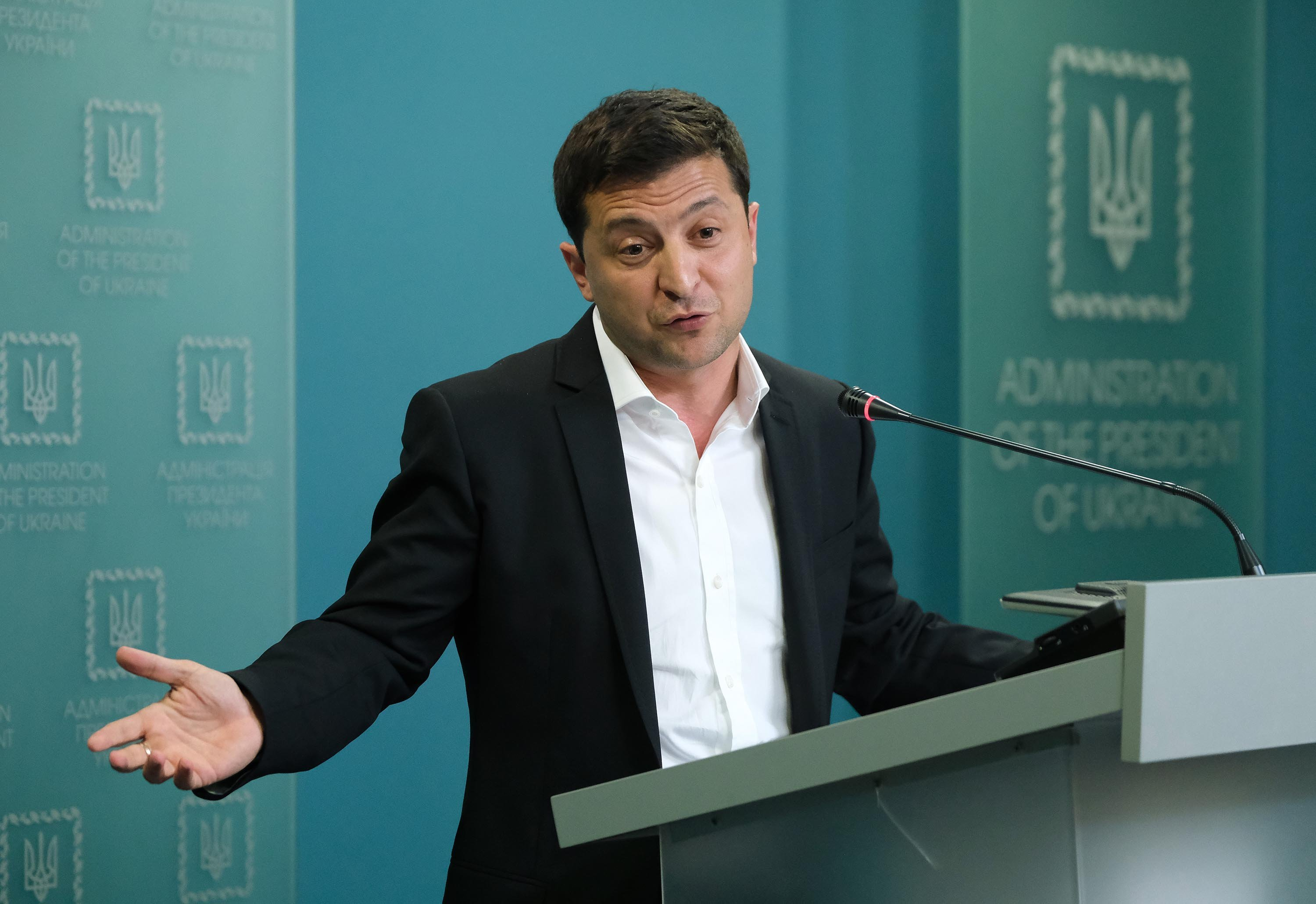 Everyone in Ukraine is 'so tired' of hearing about Burisma, Zelensky tells CNN