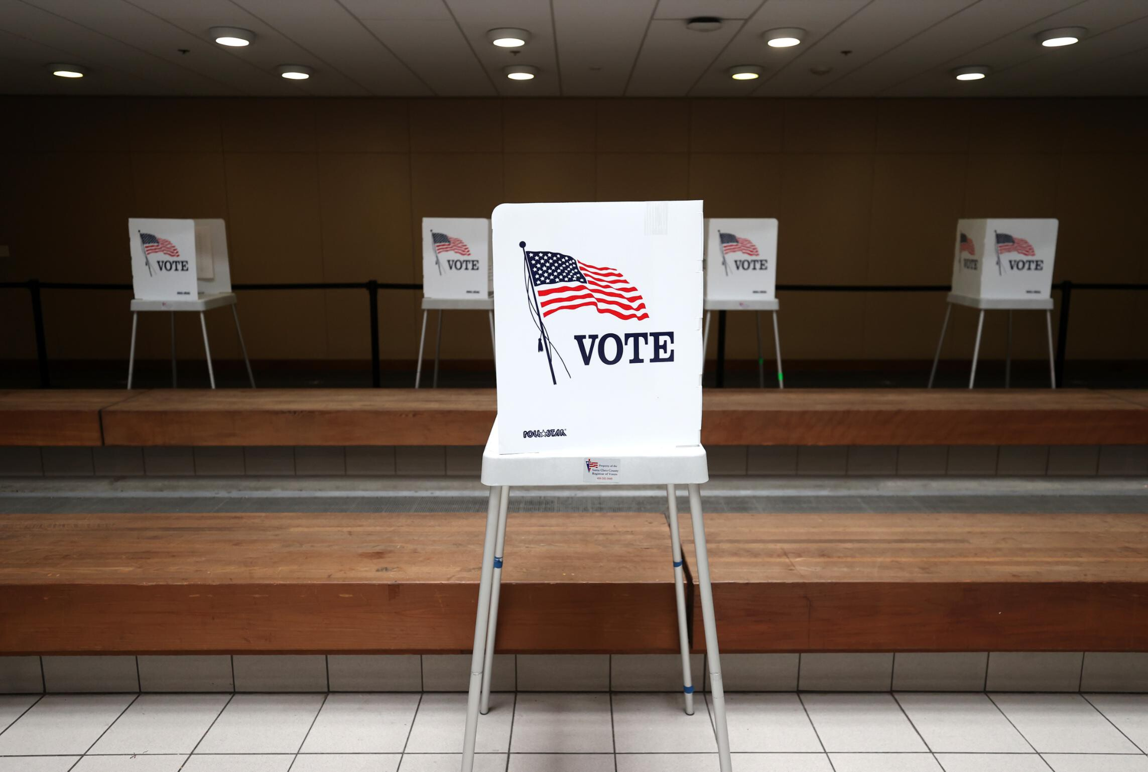 19 states passed this year laws to restrict voting, new tally finds