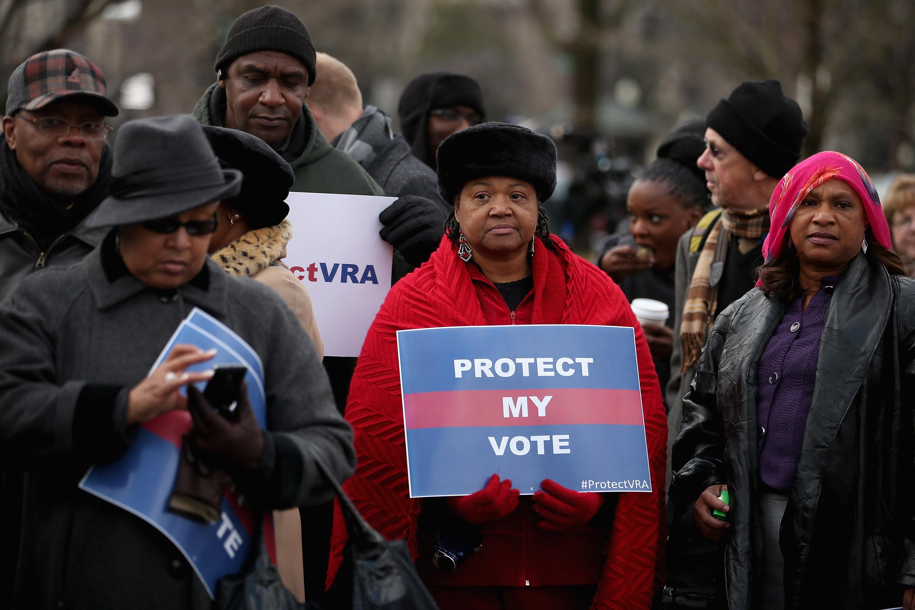 She marched in Selma as a young girl. Now she's seeing history repeat on voting rights