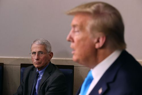 Image for White House rips Fauci after criticism of Atlas and Trump's pandemic response
