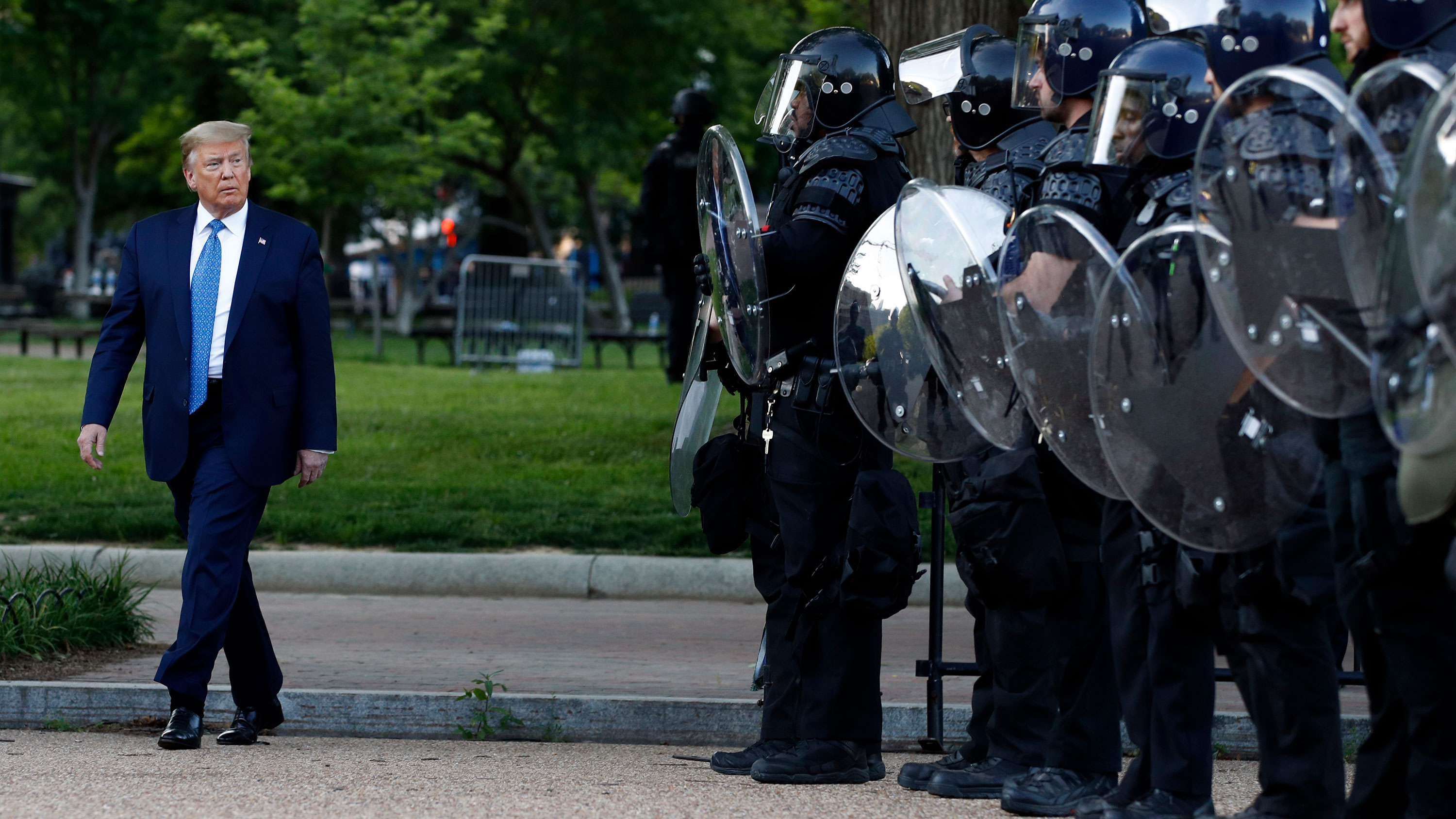 White House wanted 10k active duty troops to quell protesters