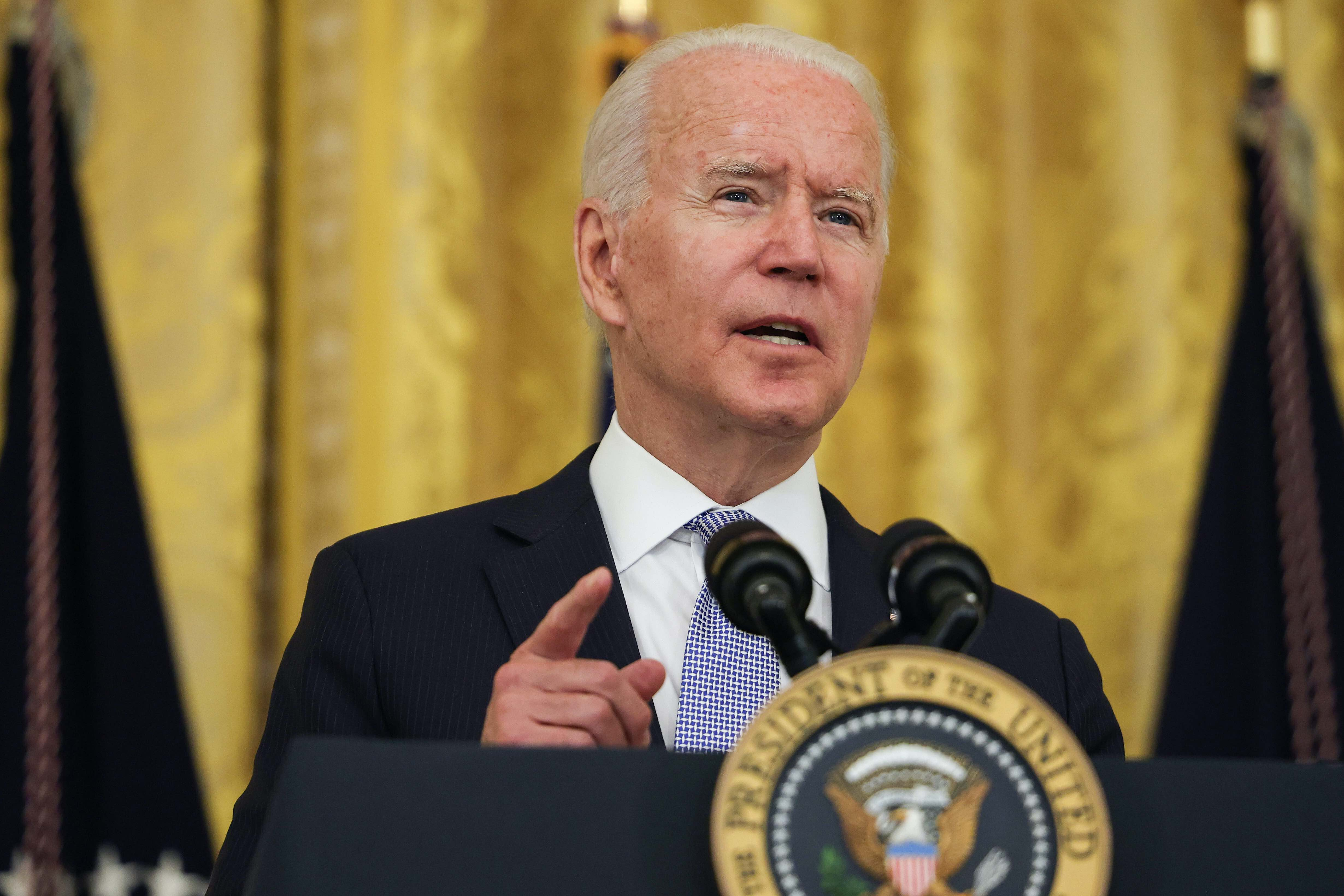 White House once again makes Covid-19 the focus of Biden's schedule