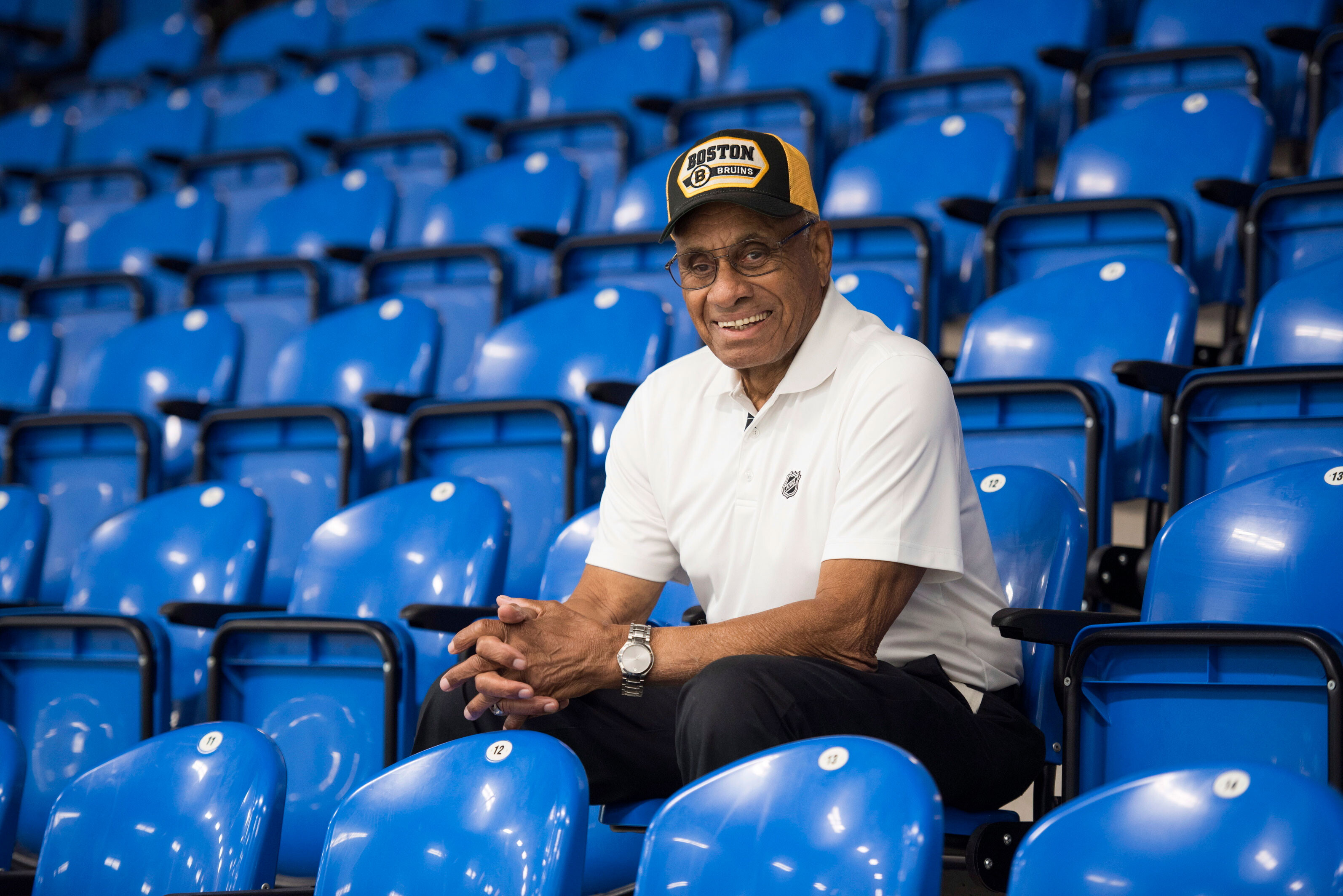 Senate passes bill to award Congress' highest honor to first Black NHL player