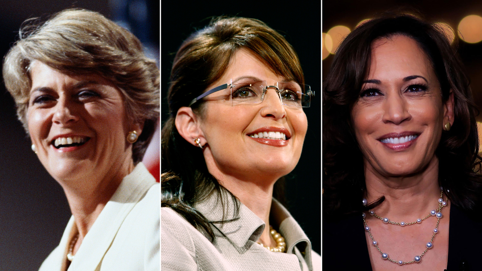 The history of the women nominated for vice president