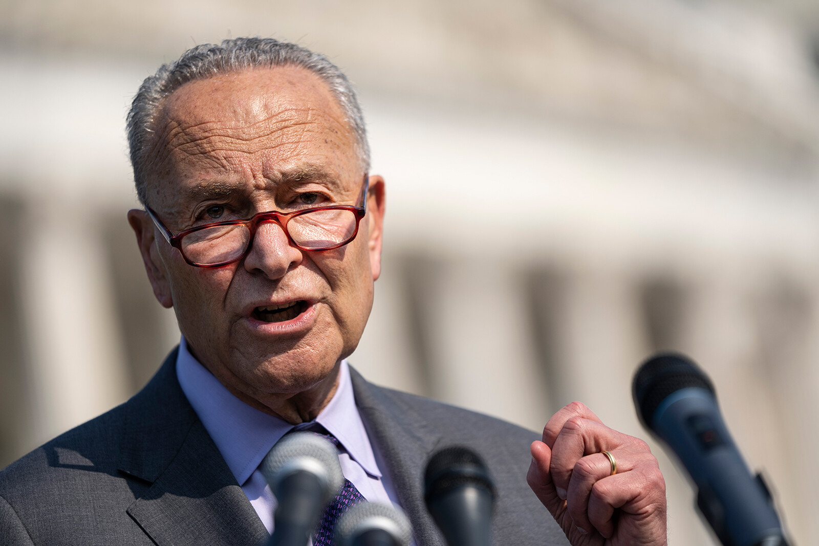 Young people to Schumer: 'Eliminate the filibuster to protect our future'