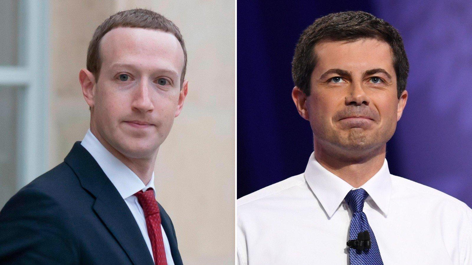Facebook CEO: Hiring advice to Buttigieg 'shouldn't be taken as an endorsement'