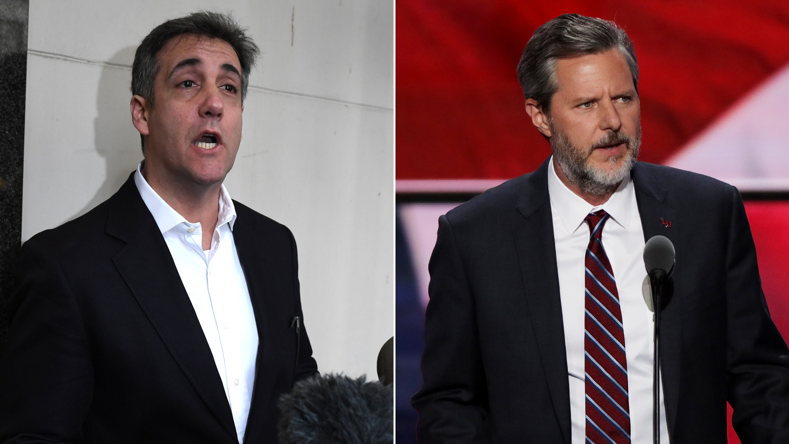 Michael Cohen, Trump's former attorney, says he helped the Falwells block the release of racy photos