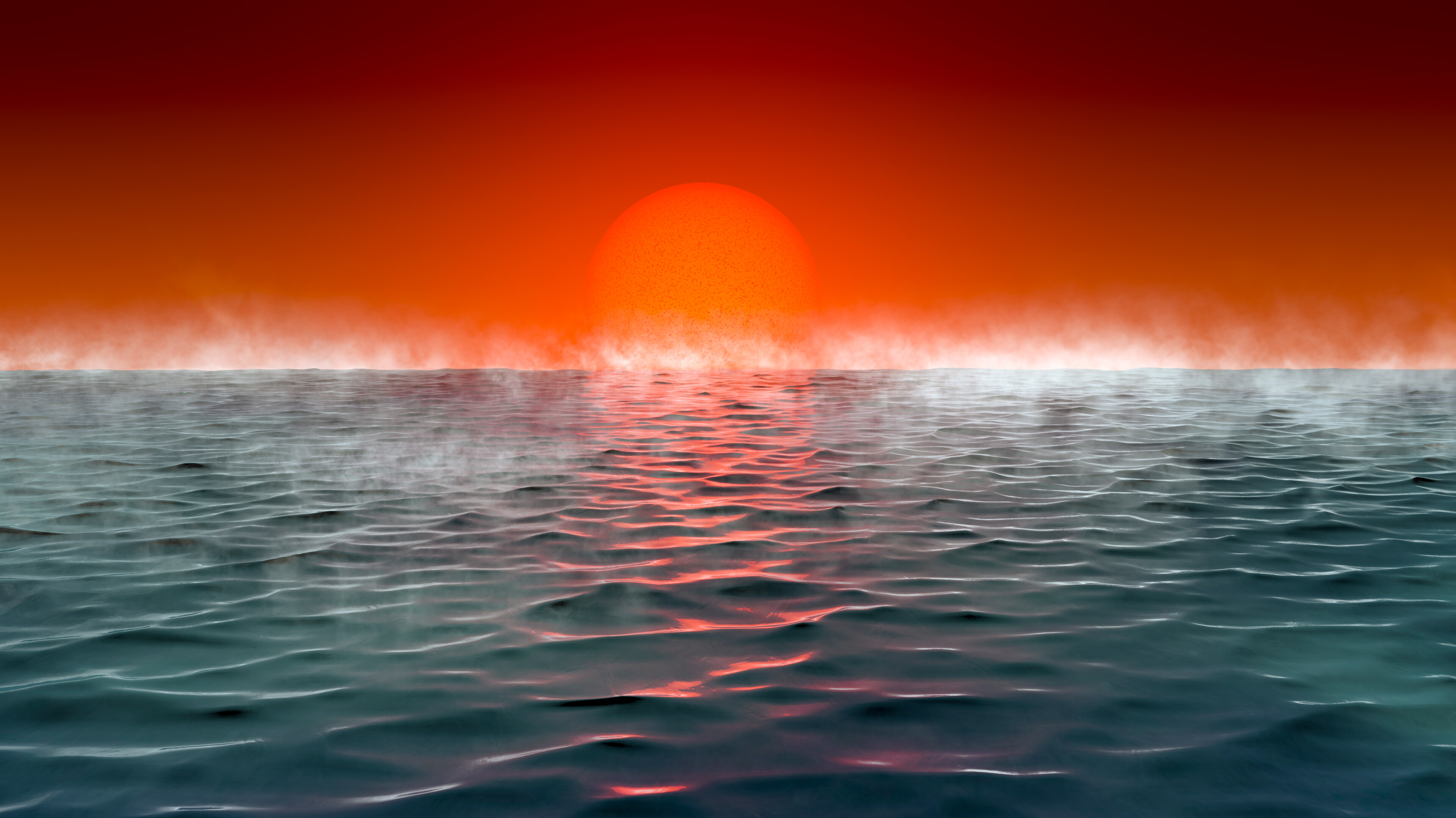 This new class of hot ocean worlds could support life