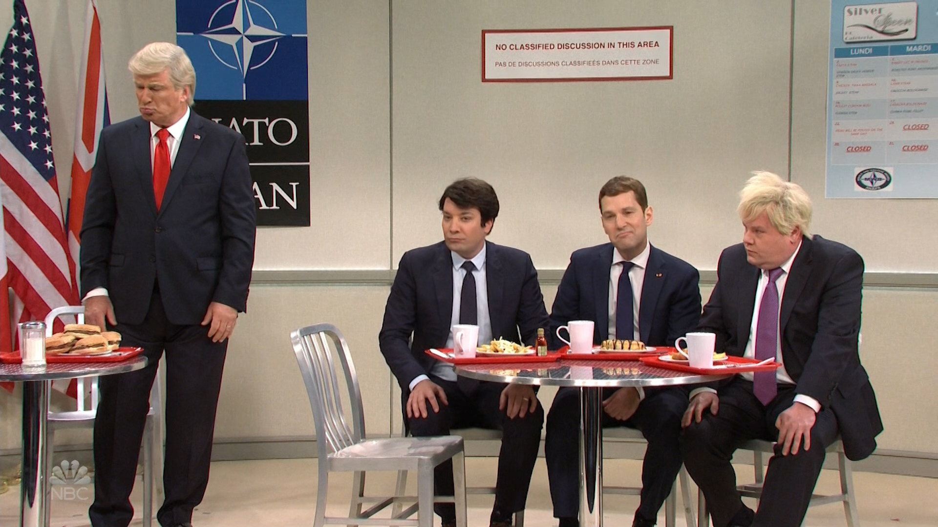 President Donald Trump treated as the nerd among the NATO cool kids in 'Saturday Night Live' cold open