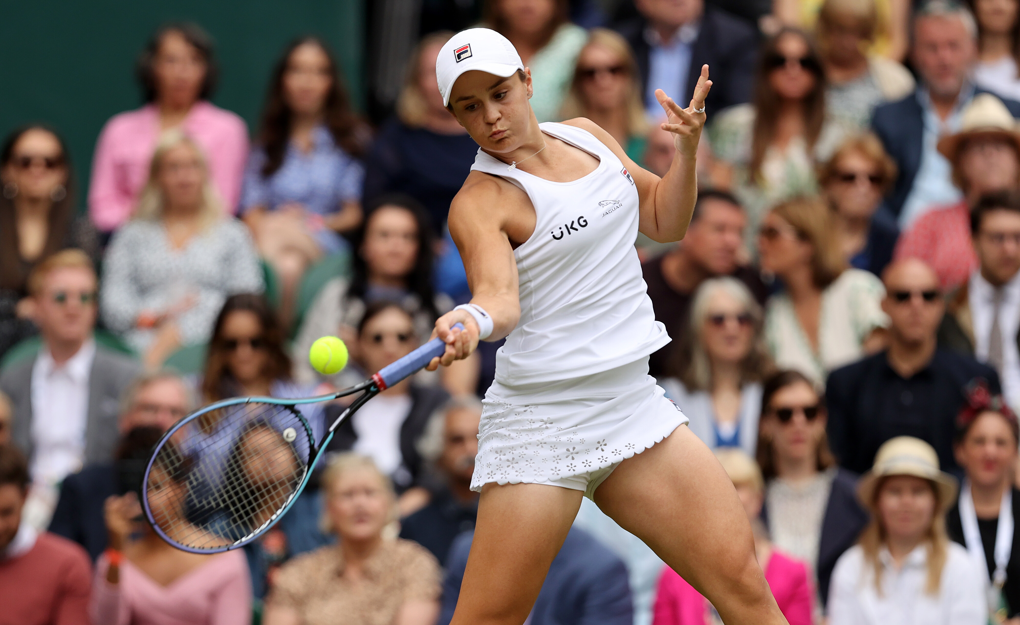 Ashleigh Barty becomes first Australian woman to win Wimbledon singles title in 41 years