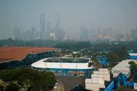 Australian Open chief says tournament will go ahead despite air quality concerns
