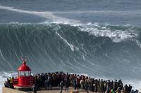 Big wave surfer Alex Botelho 'stable' after suffering sickening wipeout at Nazare