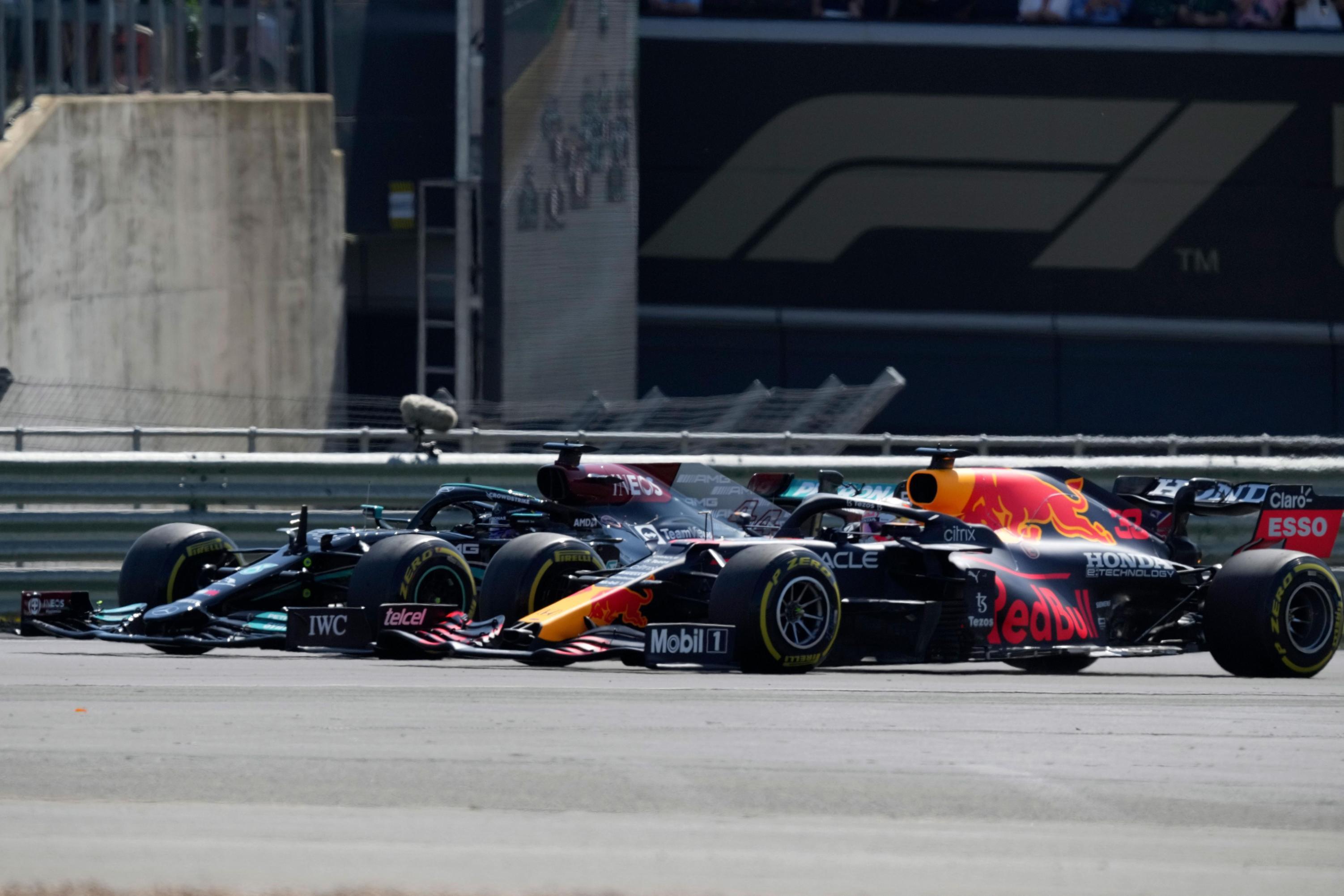 Lewis Hamilton wins British Grand Prix after high-speed collision with Max Verstappen