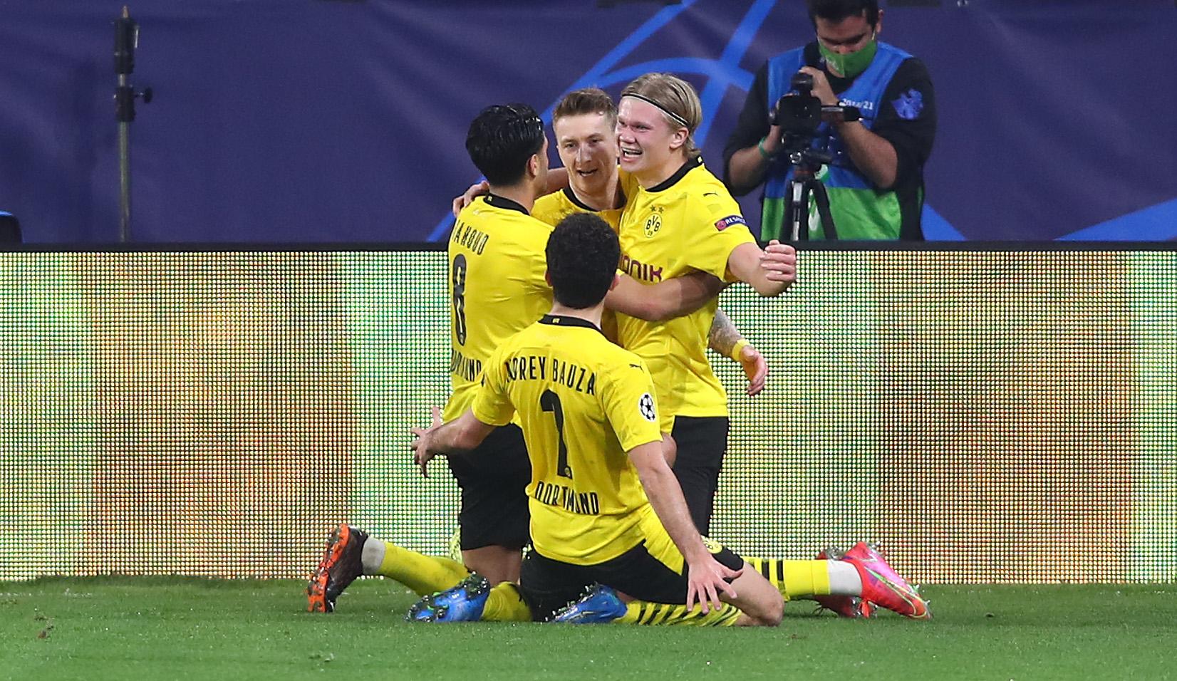 Erling Haaland nets wonderful brace as Borussia Dortmund beats Sevilla in the Champions League