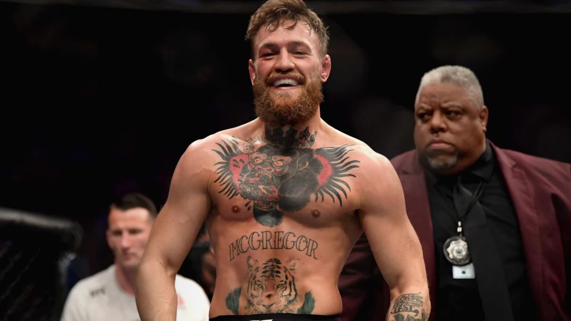 Conor McGregor says he's accepted a UFC fight against Dustin Poirier
