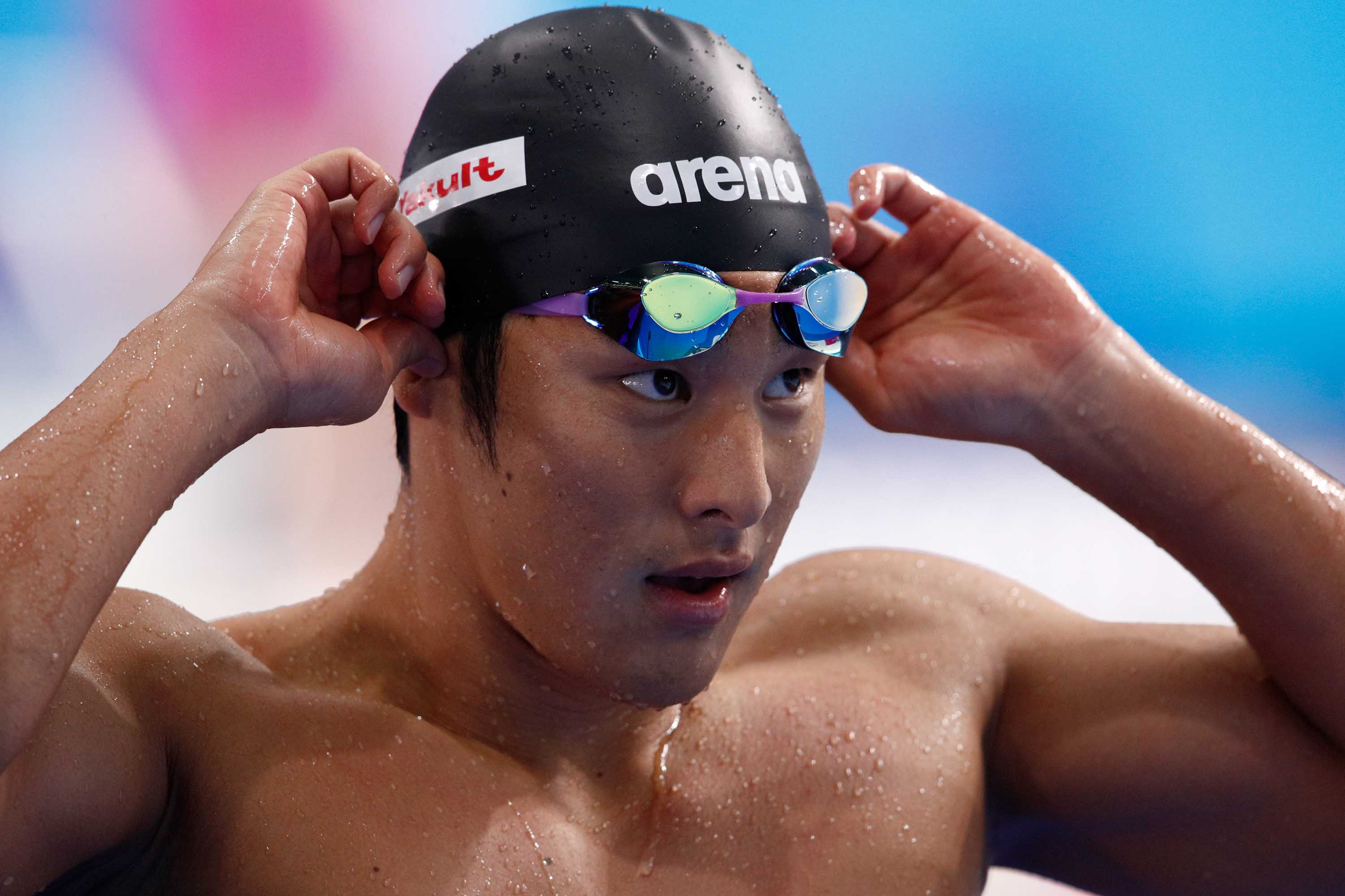 World champion swimmer Daiya Seto suspended following extramarital affair
