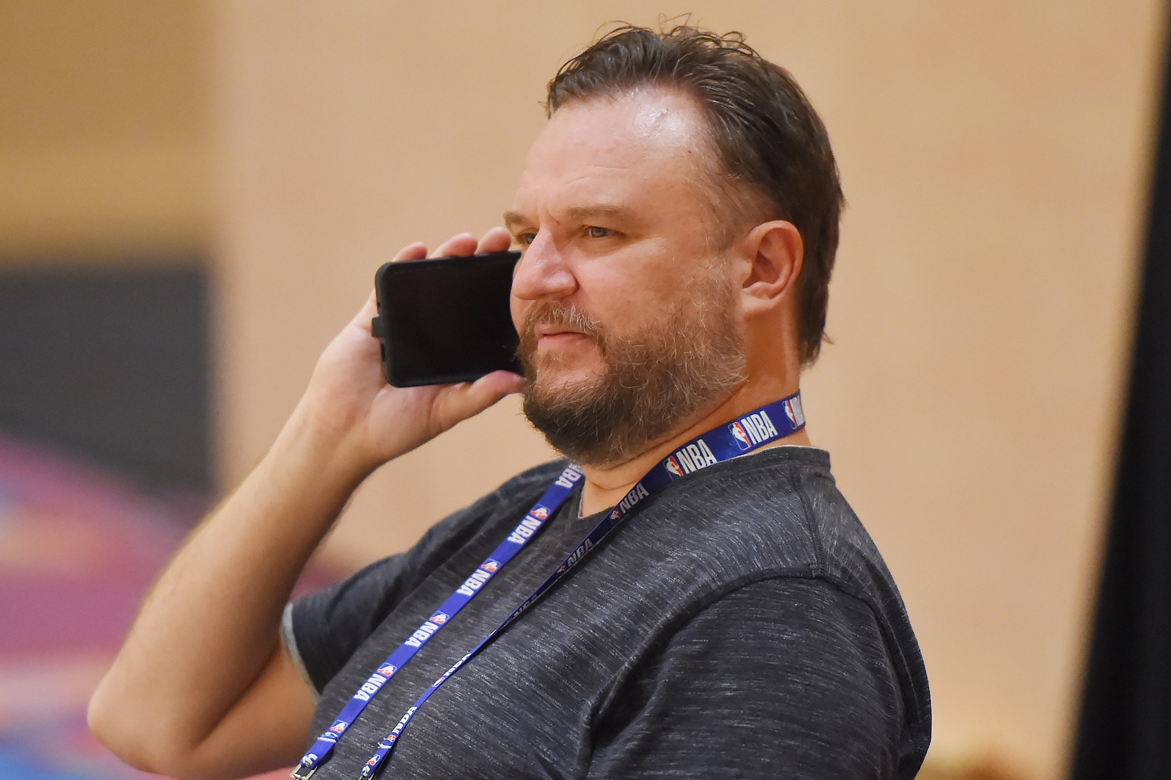 Houston Rockets GM Daryl Morey, who sparked controversy between the NBA and China, to step down