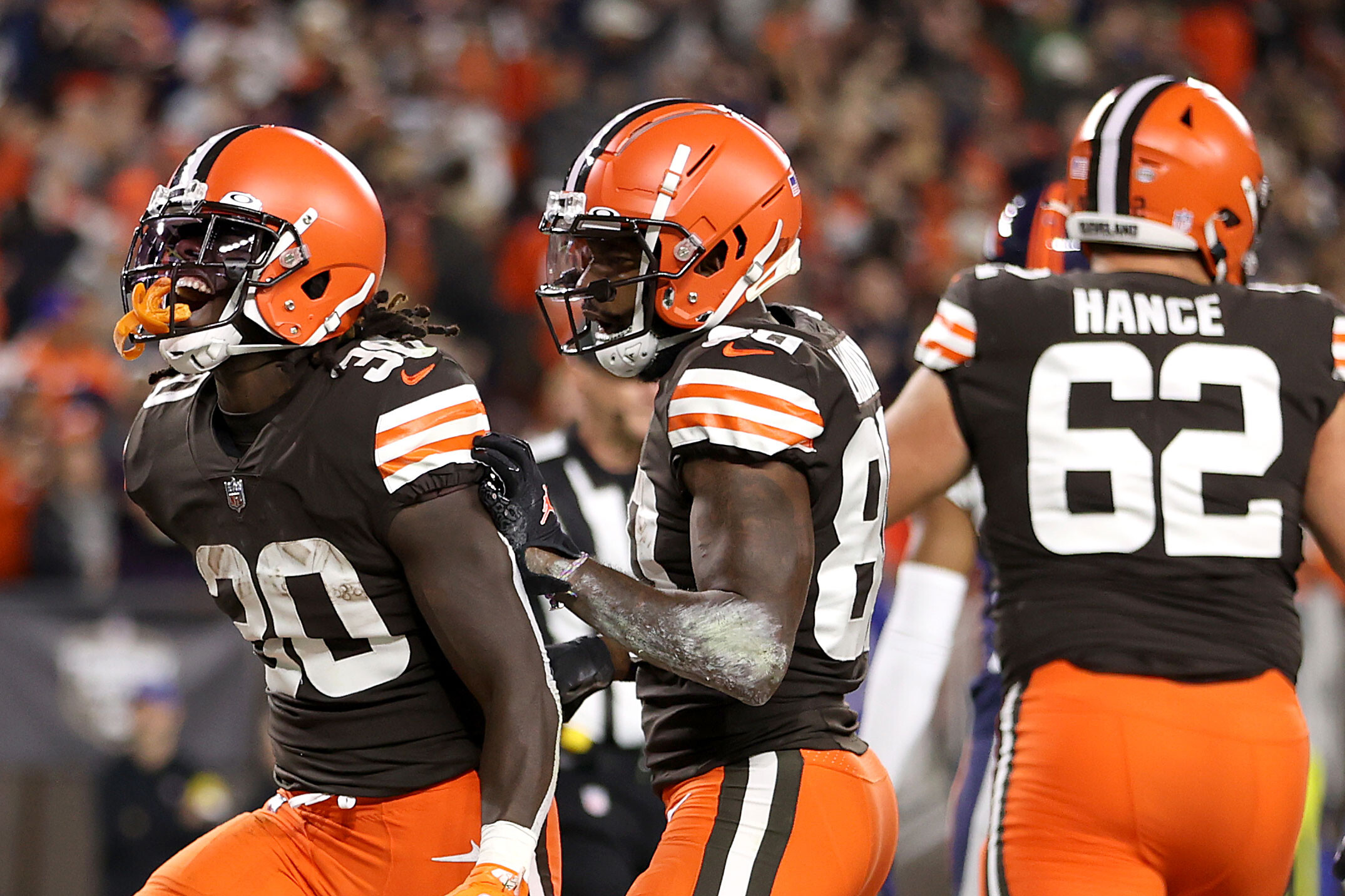 D'Ernest Johnson: Three years ago, he was working on a fishing boat. Now, Cleveland Browns running back is a match-winning NFL player