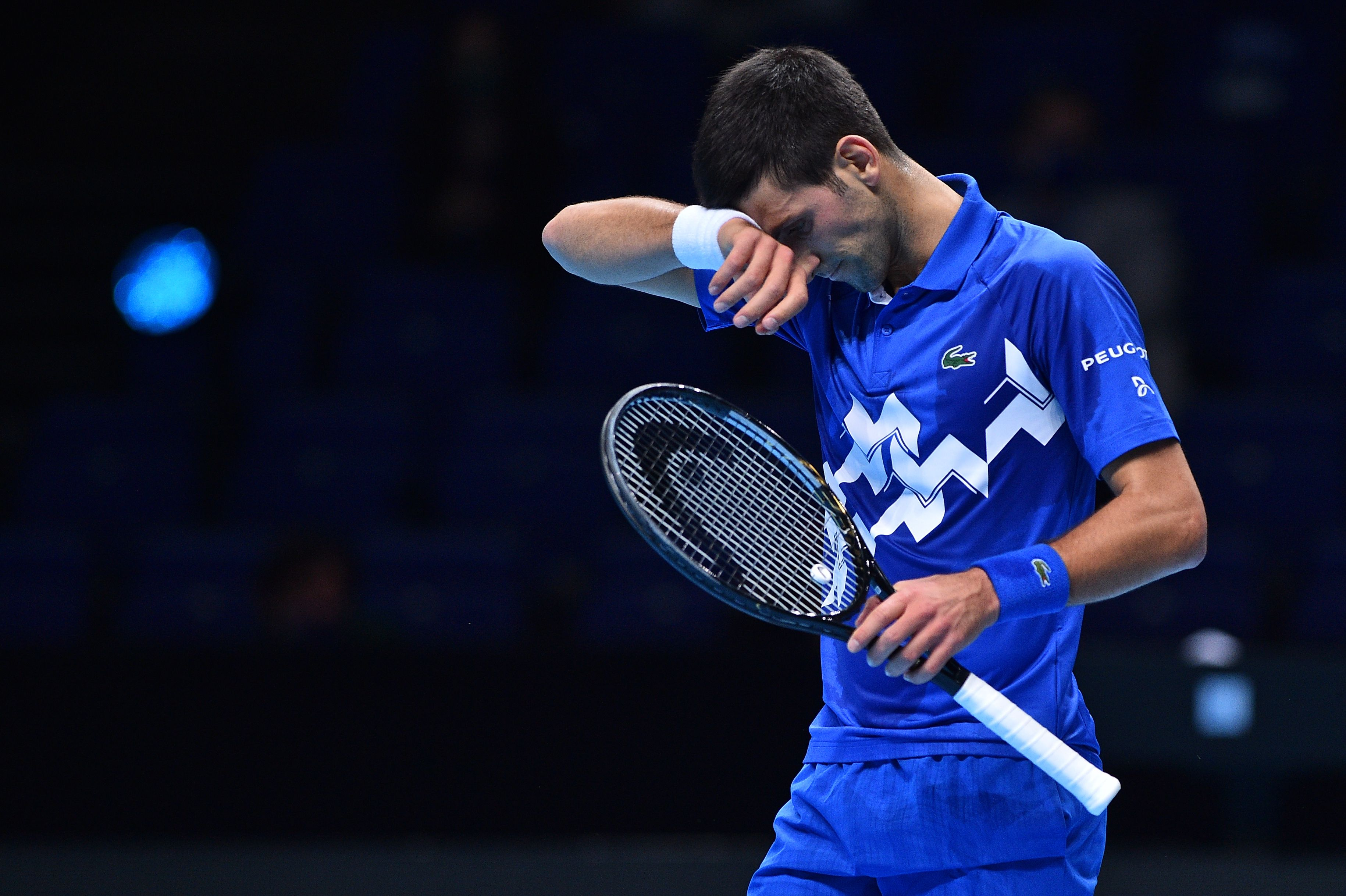 World No. 1 Novak Djokovic is stunned by Daniil Medvedev at the ATP Finals