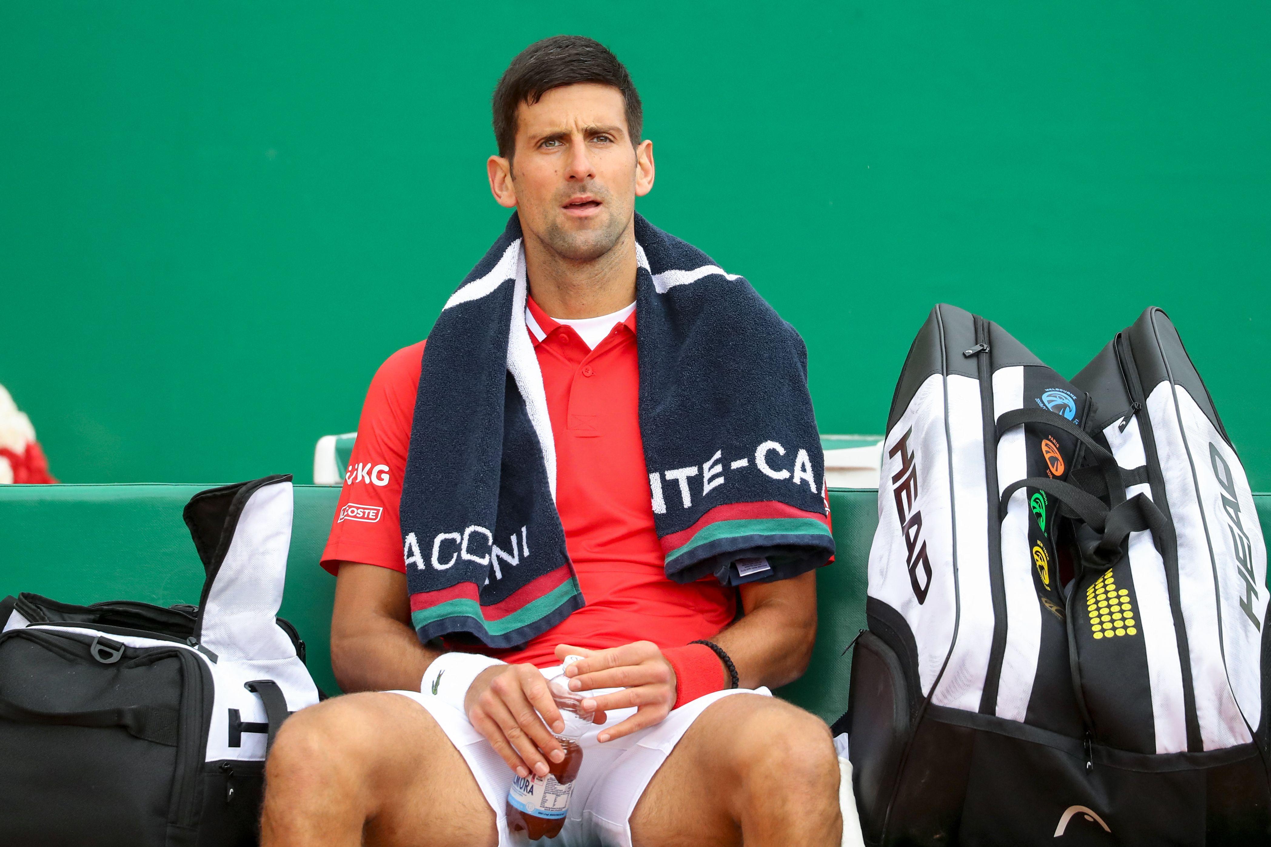 Novak Djokovic says he hopes Covid-19 vaccine will not be mandatory for players