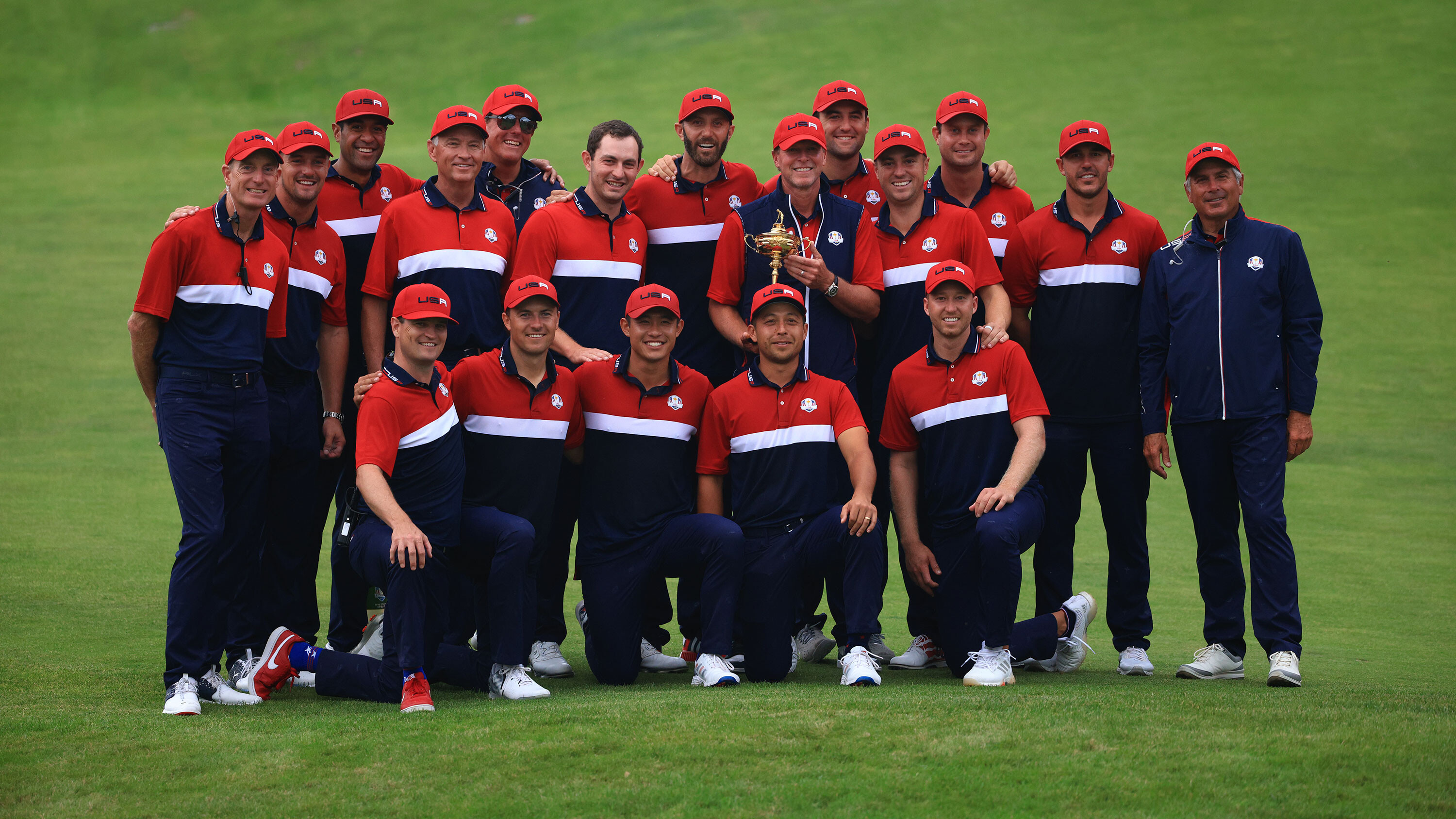 Dustin Johnson: How 'Grandpa' led Team US' young stars to Ryder Cup history