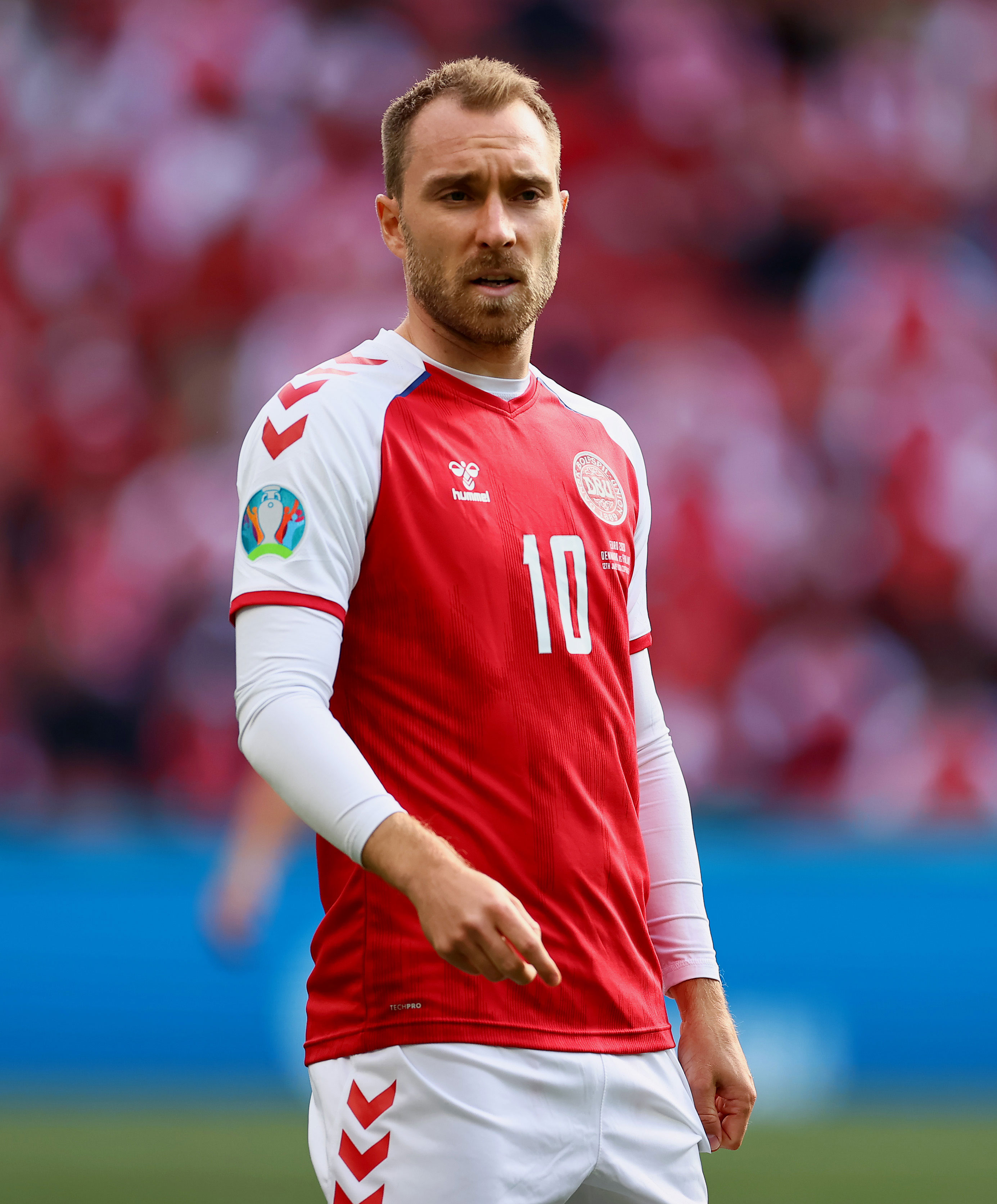 Christian Eriksen suffered cardiac arrest during Euros match and 'was gone' before resuscitation, doctor says