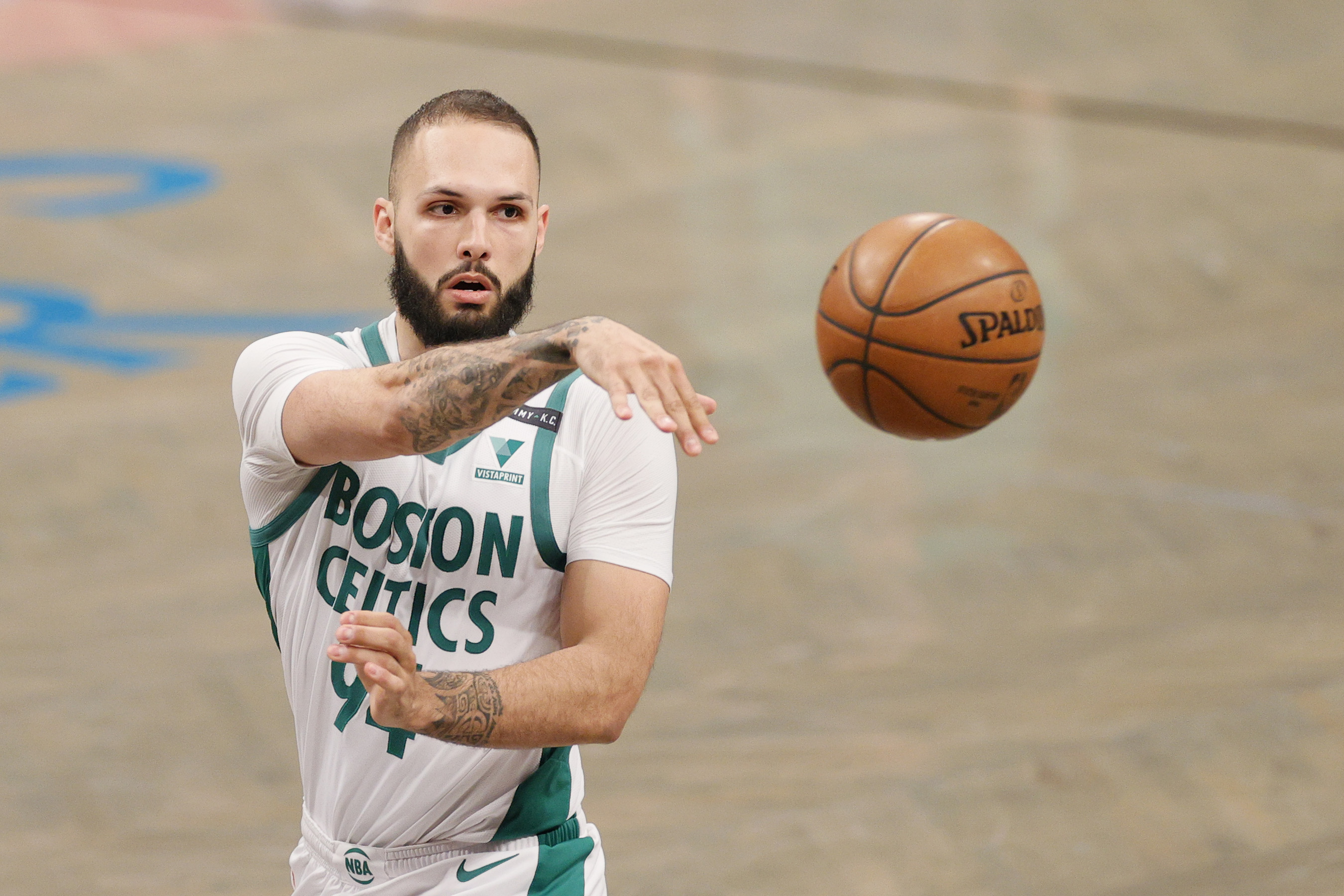 'It's like having a concussion,' says Boston Celtics' Evan Fournier of lingering Covid-19 side effects