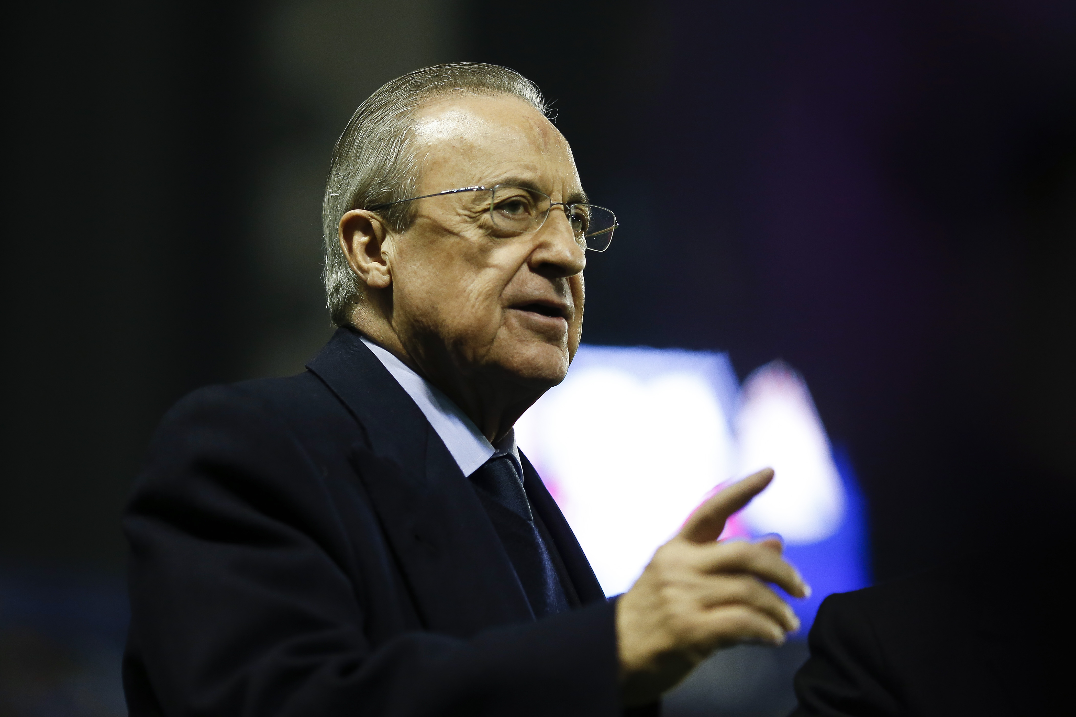 Real Madrid president Florentino Perez insists Super League isn't canceled, only on 'standby'