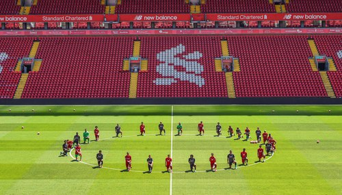 Image for Premier League players urged to take a knee in protest at George Floyd's death