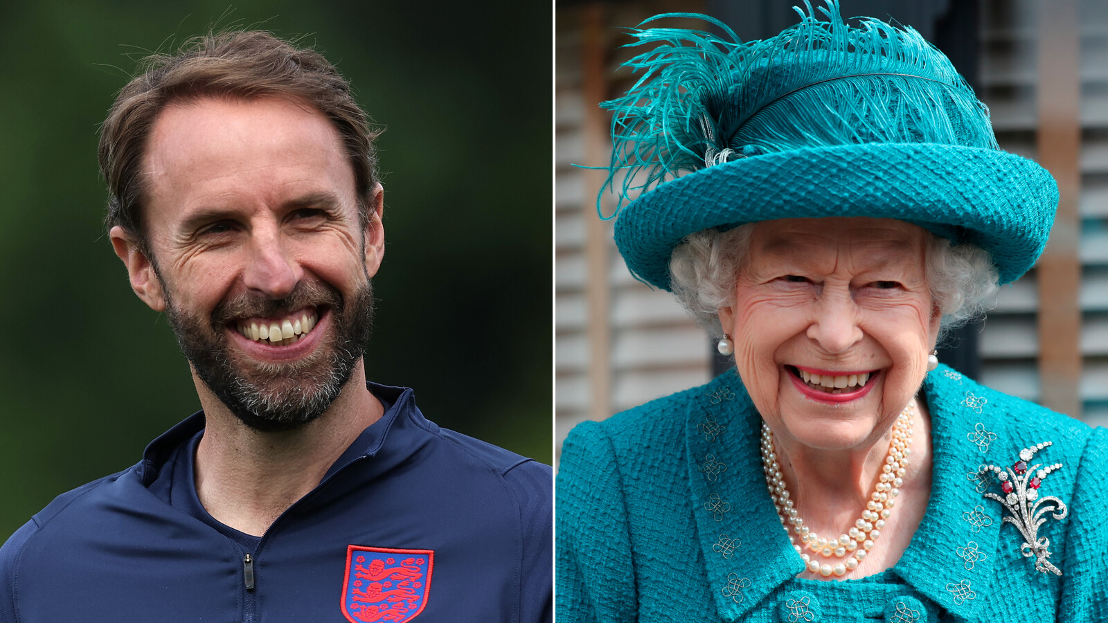 No pressure: Queen Elizabeth sends 'good wishes' to Gareth Southgate ahead of the Euro 2020 final