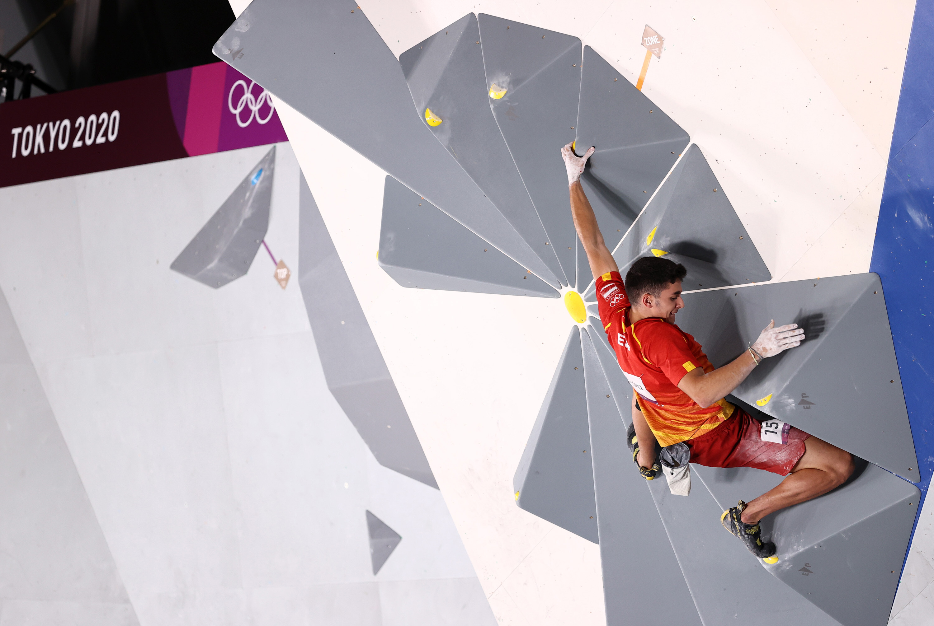 Alberto Ginés wins first Olympic climbing gold in Tokyo