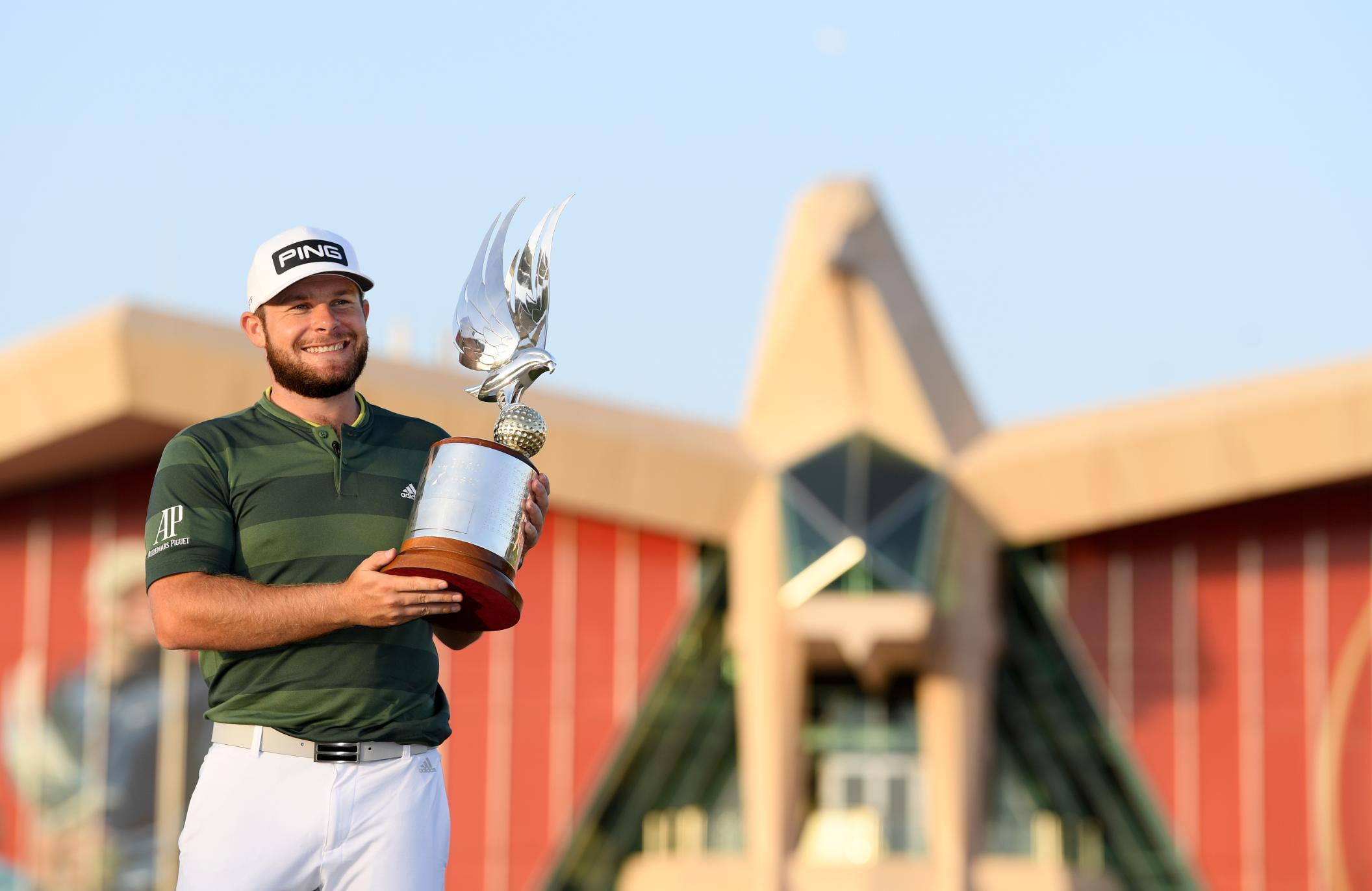 Tyrrell Hatton wins Abu Dhabi Championship as Rory McIlroy fades on the final day