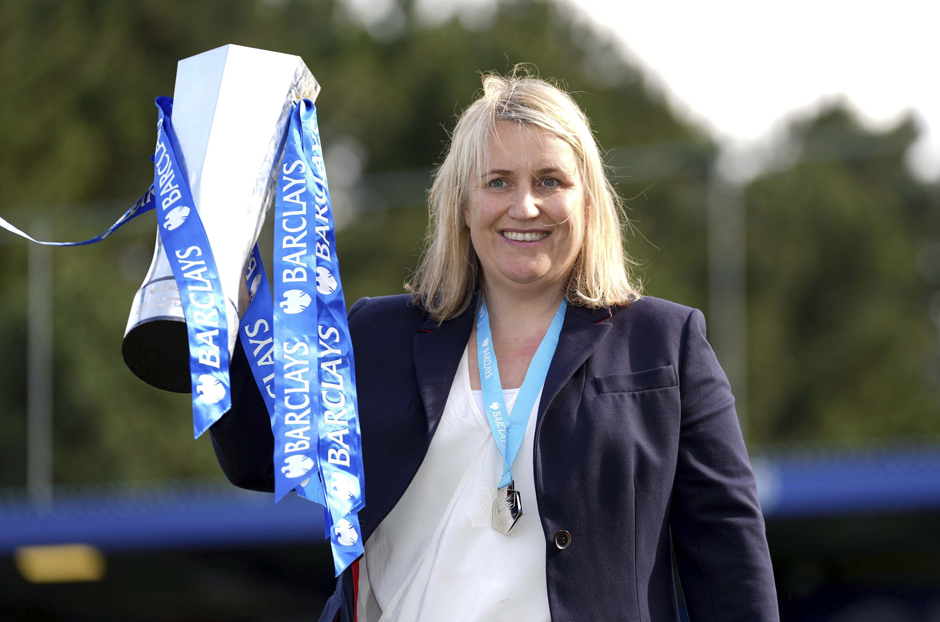 Chelsea boss Emma Hayes says inspiring the new generation is as important as Champions League glory