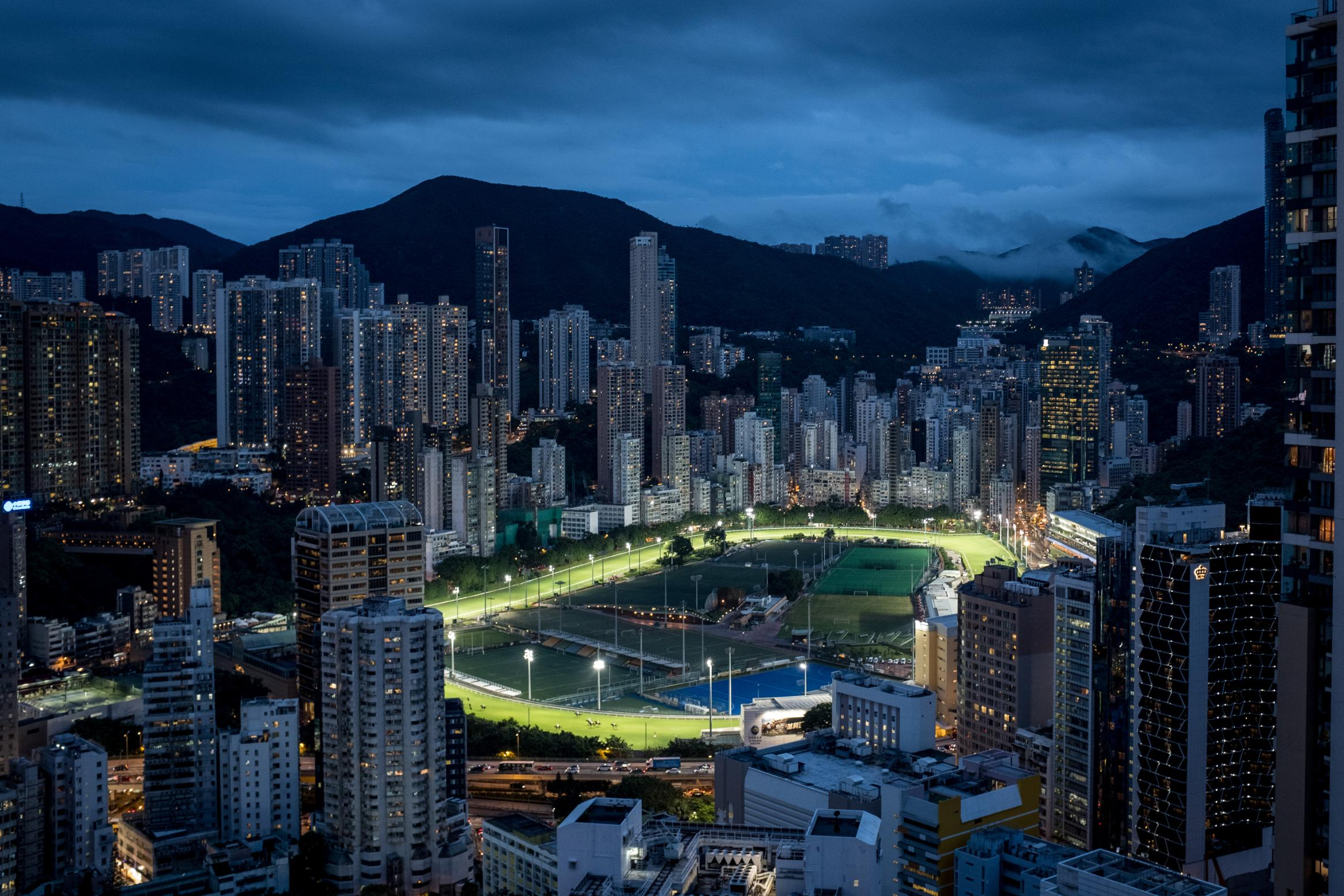 Hong Kong's night races gallop on during the coronavirus outbreak… but without the fans