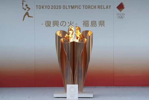 Image for An earthquake at the Olympic torch relay start point is just the beleaguered Tokyo 2020 Games' latest crisis