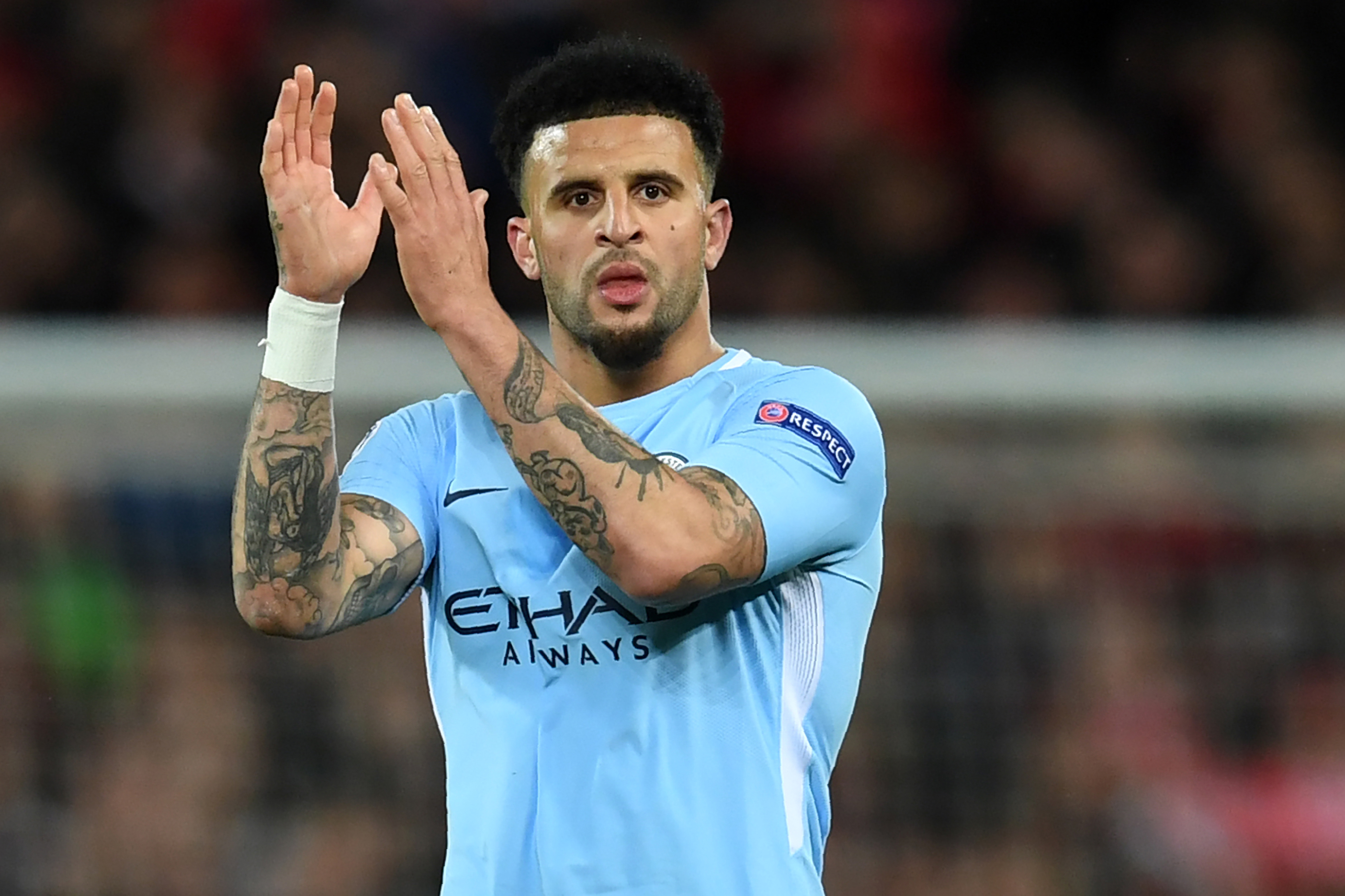 Footballer Kyle Walker sorry for hosting party 'with two sex workers' while urging fans to stay at home during coronavirus lockdown