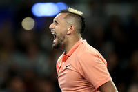 Nick Kyrgios and Gilles Simon mock Rafael Nadal routine at Australian Open