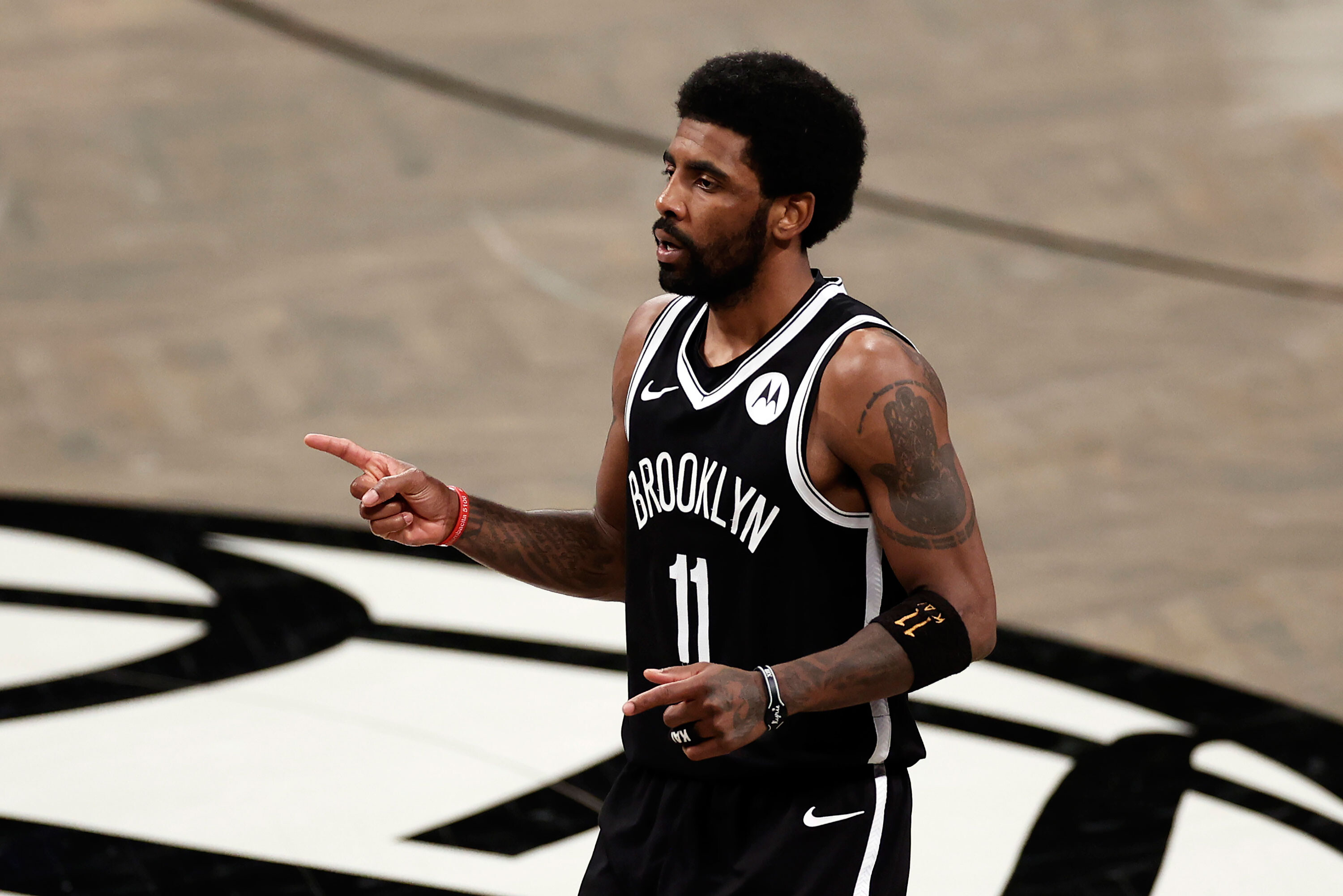 Brooklyn Nets star Kyrie Irving says he's unvaccinated, a day after his team says he won't be allowed to play