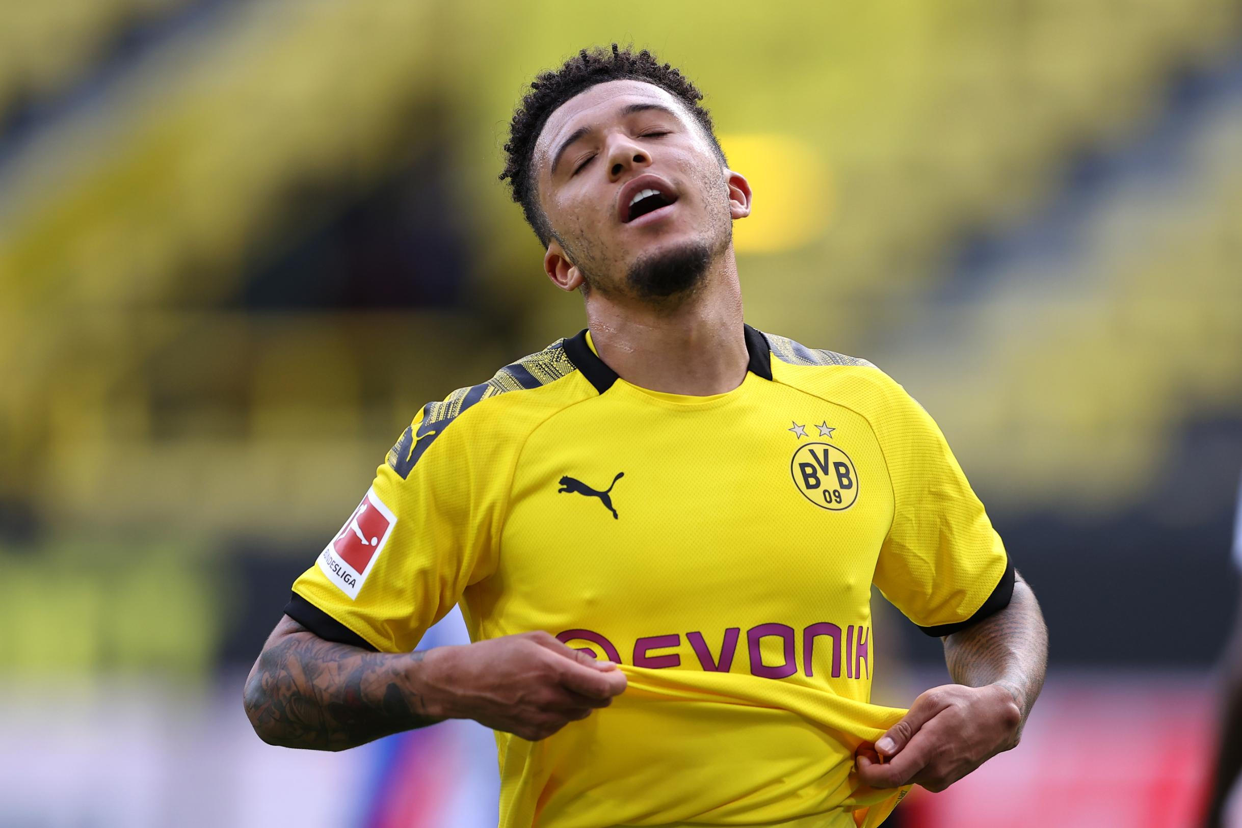 Borussia Dortmund digs its heels to stop Manchester United signing Jadon Sancho