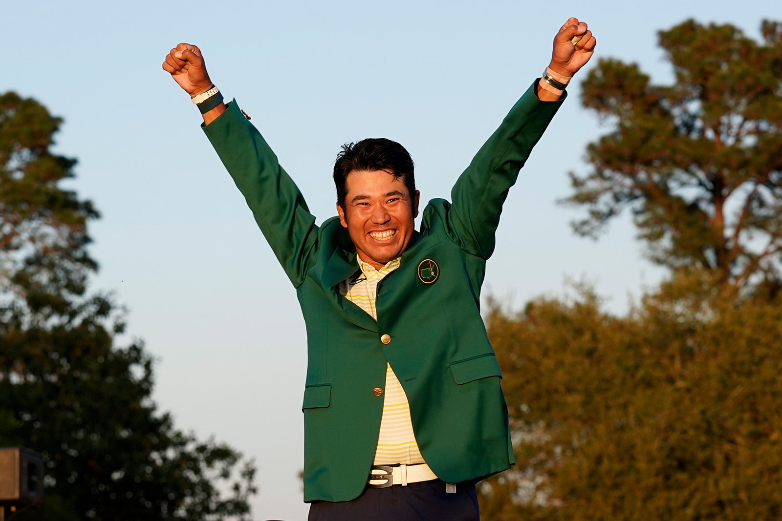 Hideki Matsuyama wins the 2021 Masters, becoming first Japanese man to win golf major