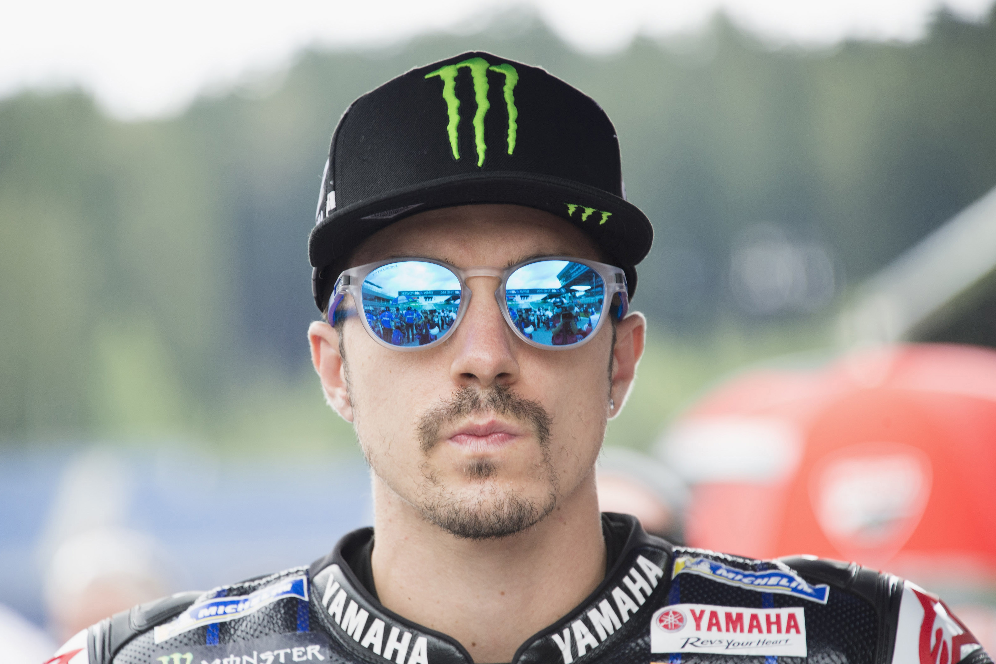 Maverick Viñales dodges disaster after jumping off bike at 228 kph in Styrian MotoGP