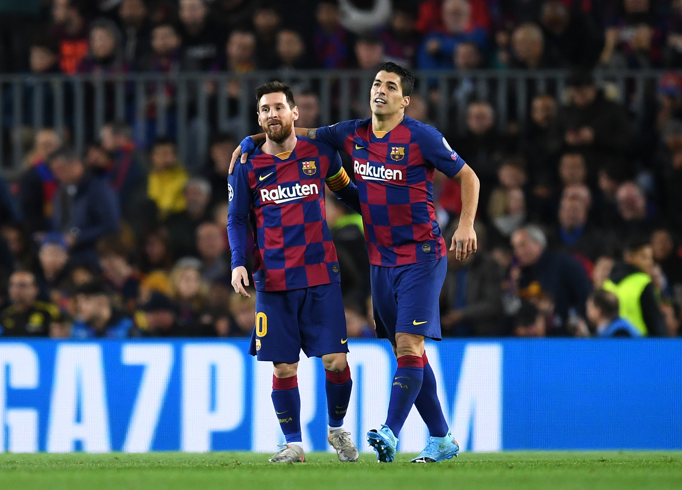 Lionel Messi aims a dig at Barcelona hierarchy after posting emotional farewell to Luis Suarez
